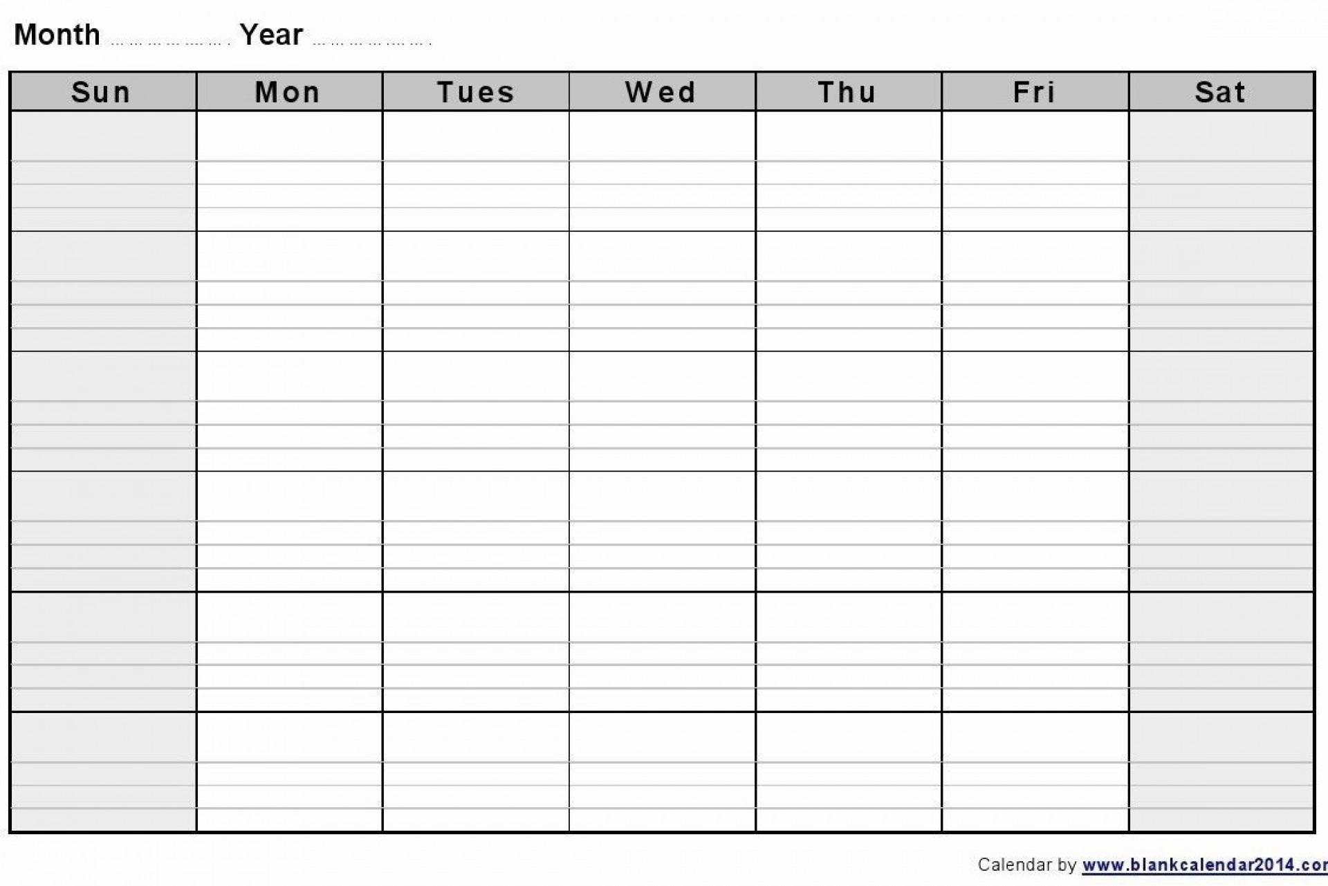 Catch 2 Week Calendar Printable