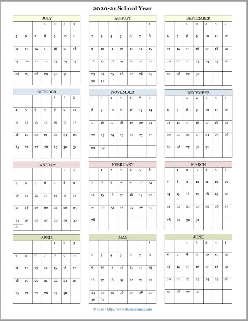 Catch 2021 2021 School Year Calendar