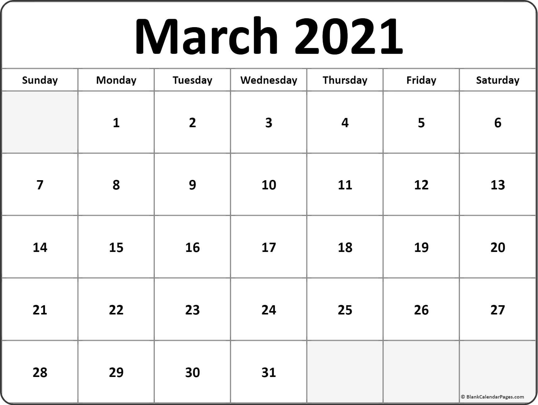Catch 2021 Calendar January February March April 2021