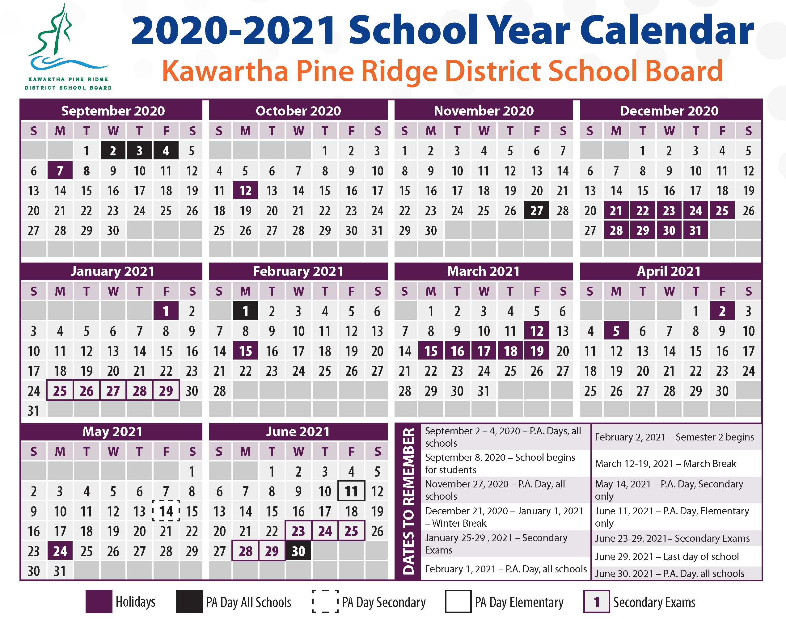 Catch 2021 Pitman Work Calendar