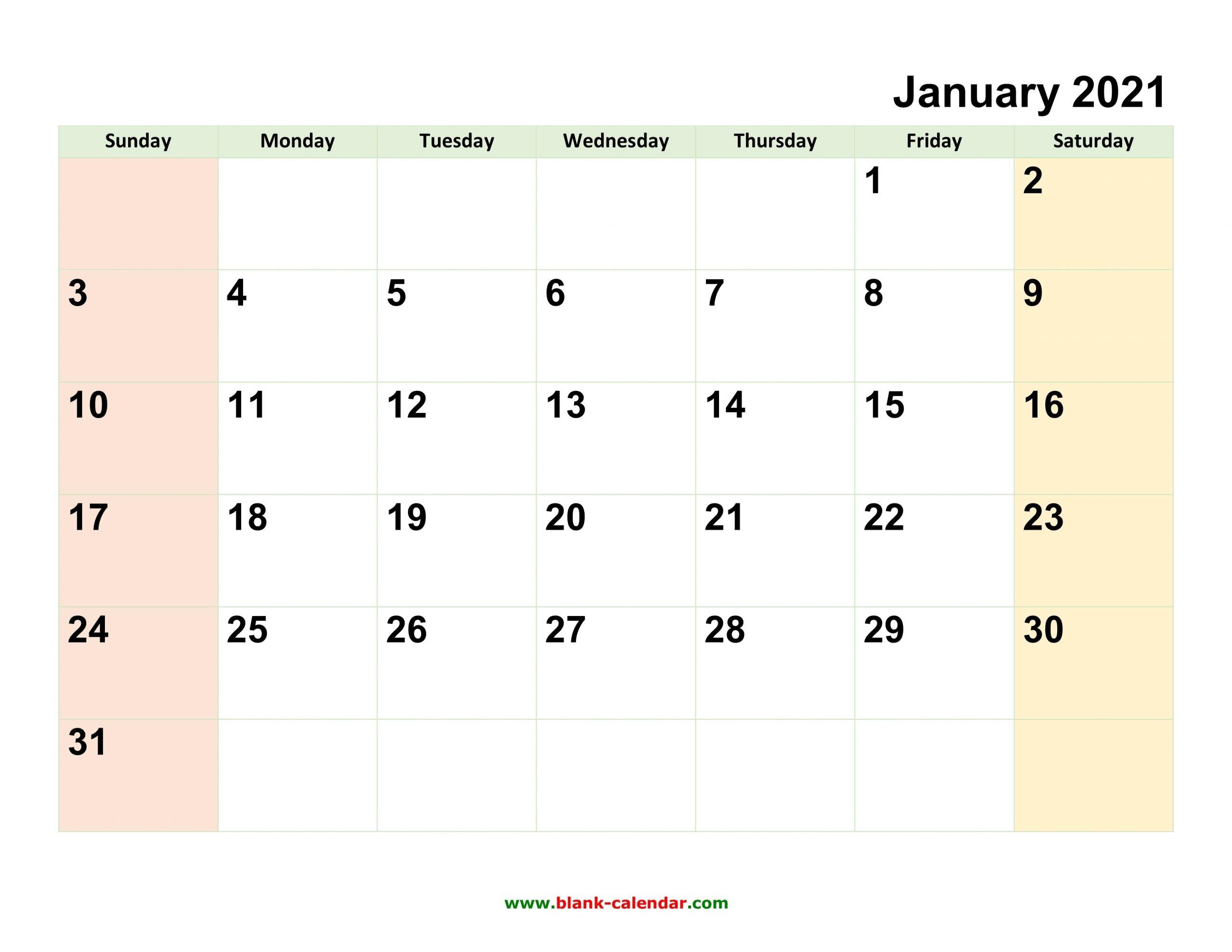 Catch 2021 Printable Calendar Monthly