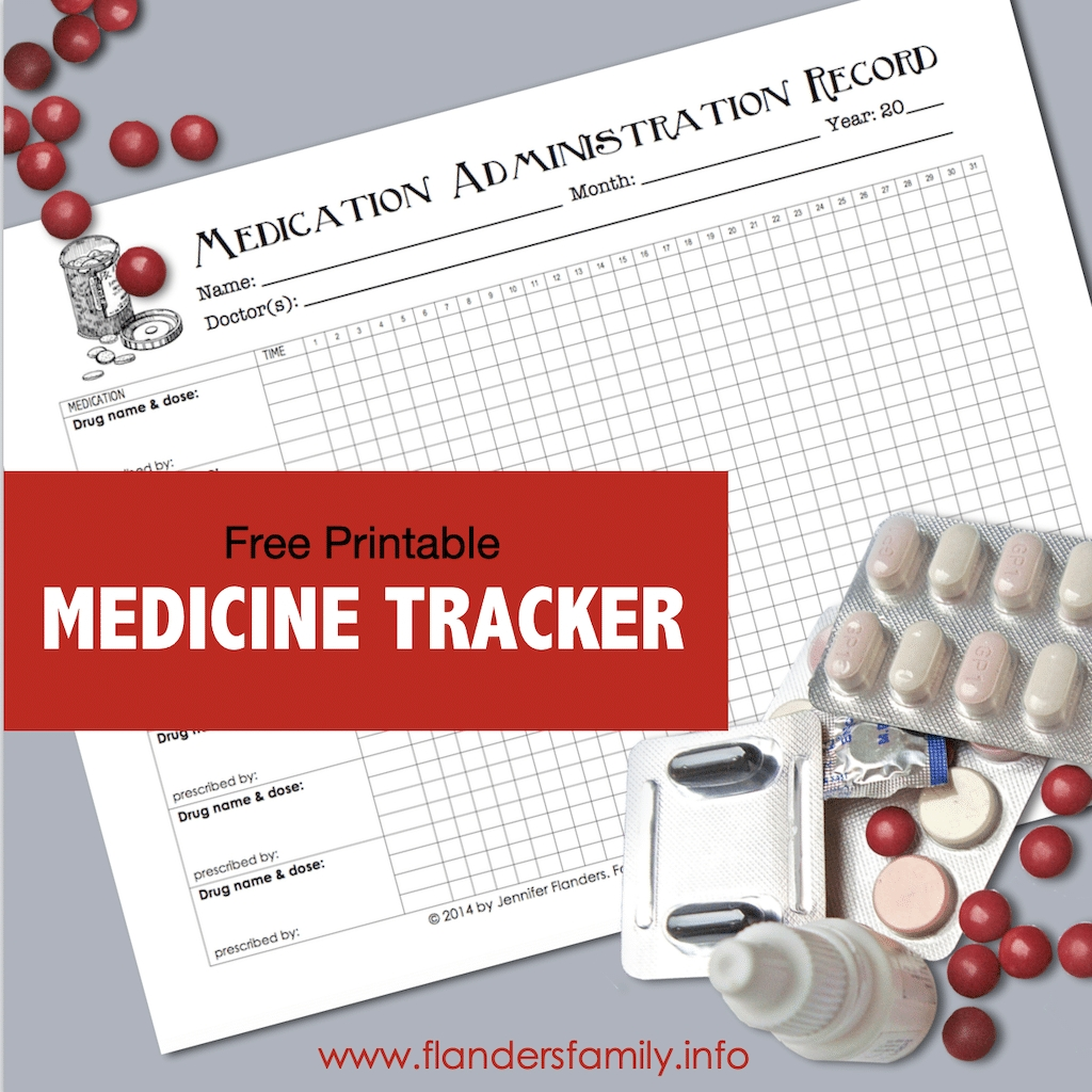 Catch 30 Day Med Administation Paper