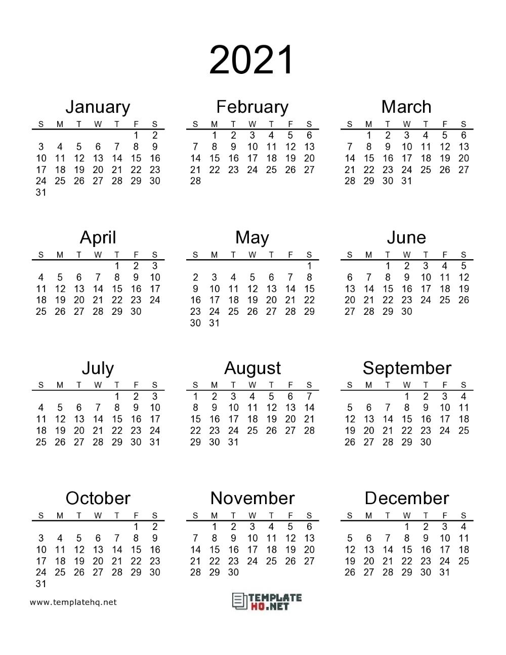 Catch 8 By 11 Printable Calendar 2021