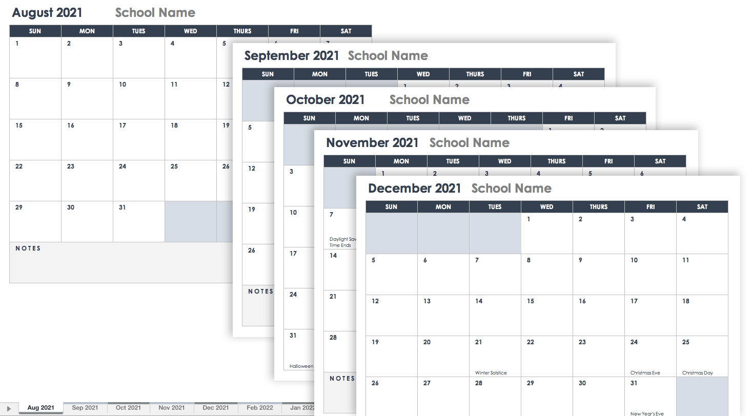 Catch Academic Calendar With Space In Dates