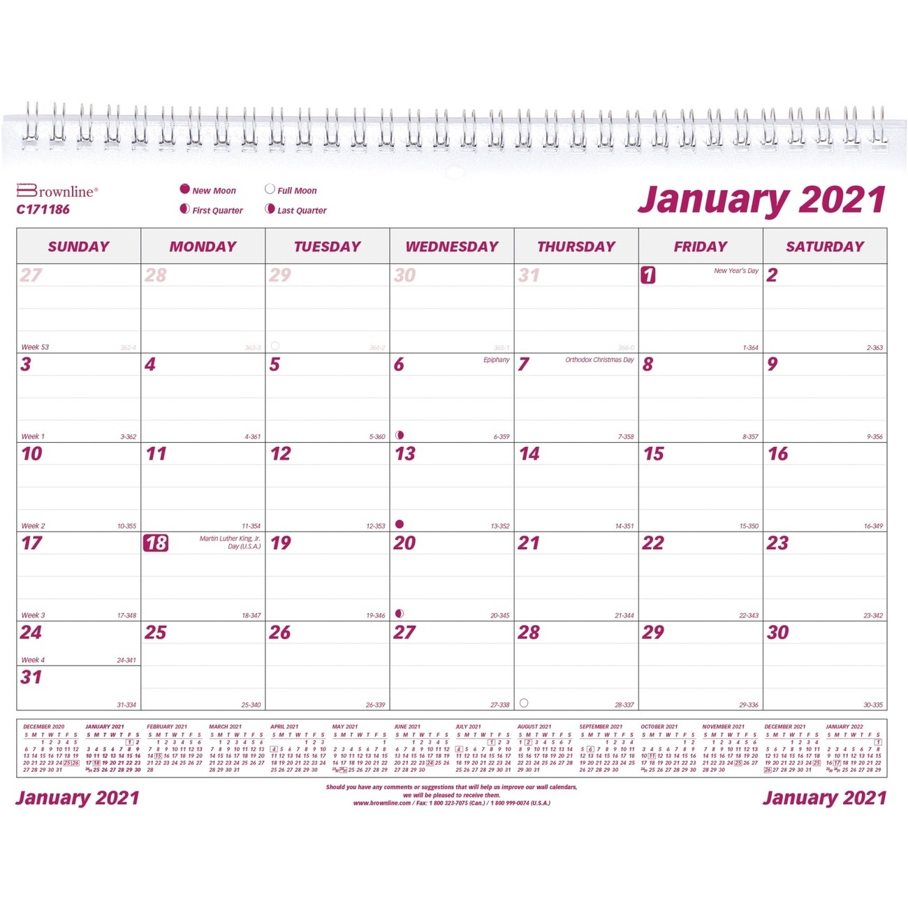 Catch Annual Calendar By Month With Julian Dates