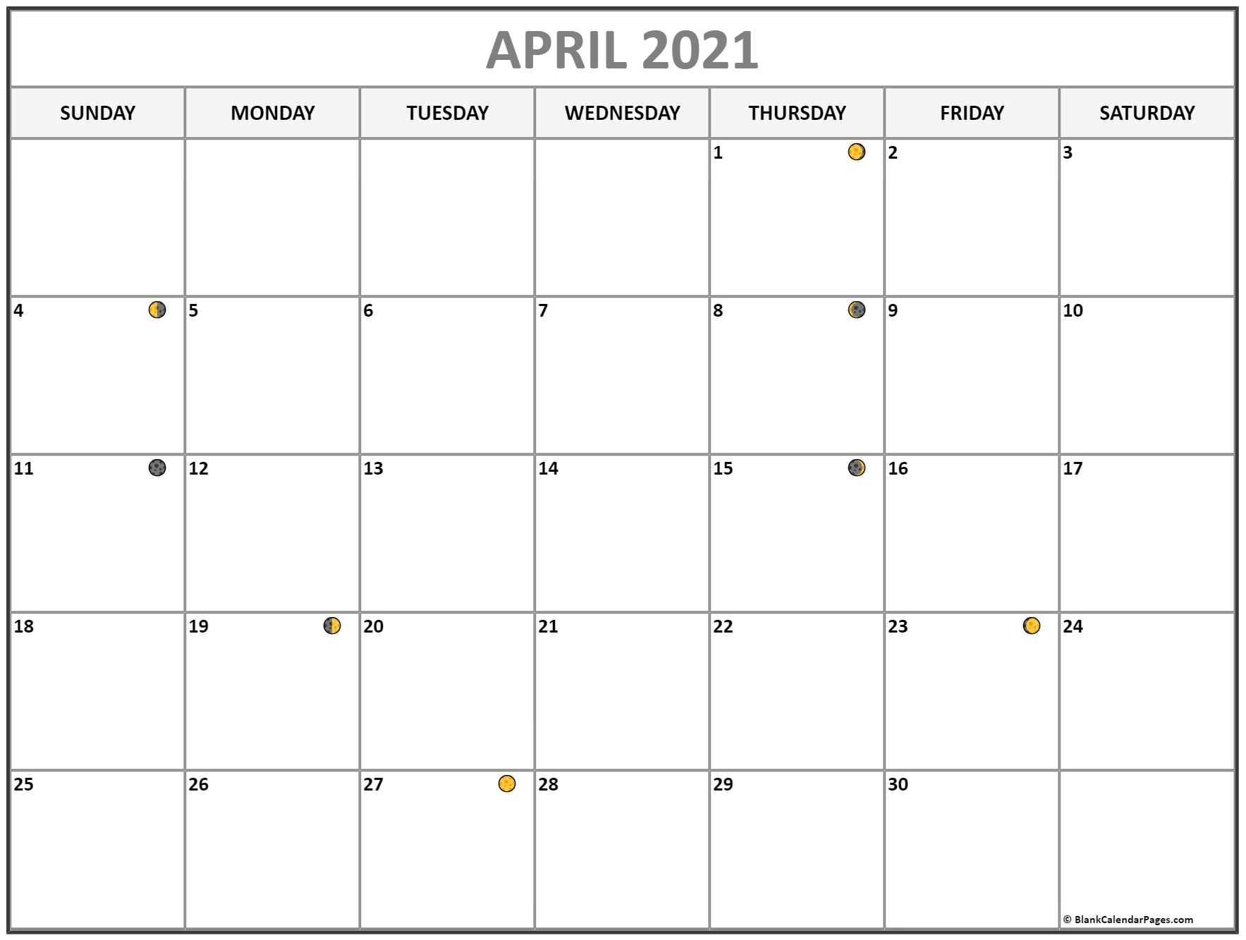 Catch August Calendar 2021 With Moon Cycle