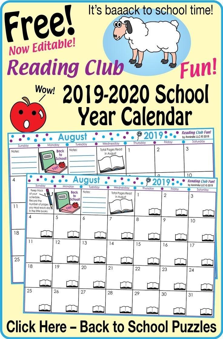 Catch Back To School August 2021 Calendar