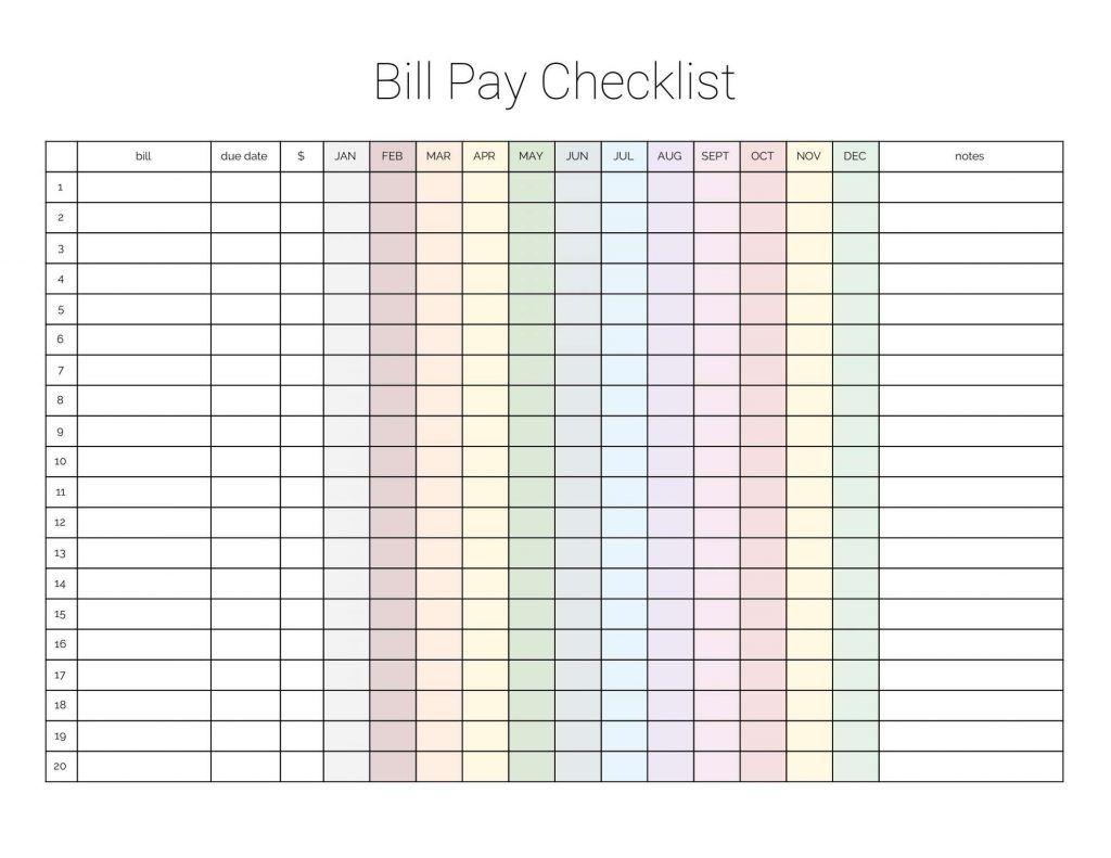 Catch Bill Due Date Template