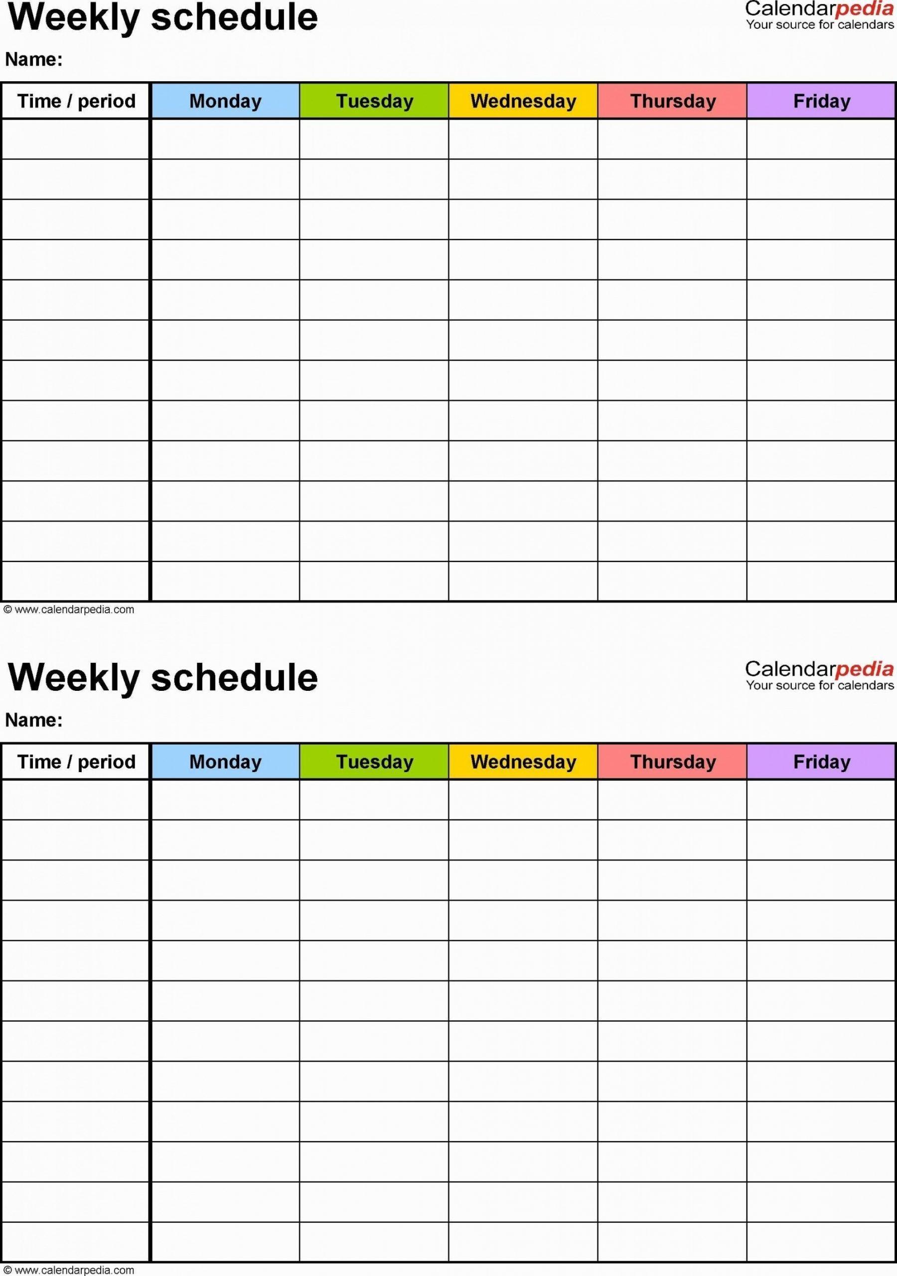Catch Blank 12 Hour Schedule