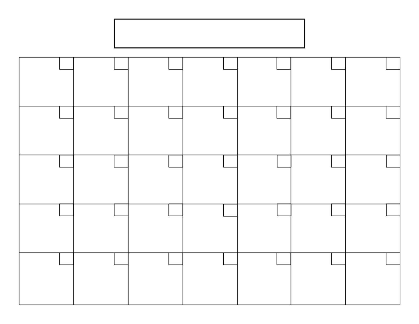 Catch Blank 8.5 X 11 Calendars