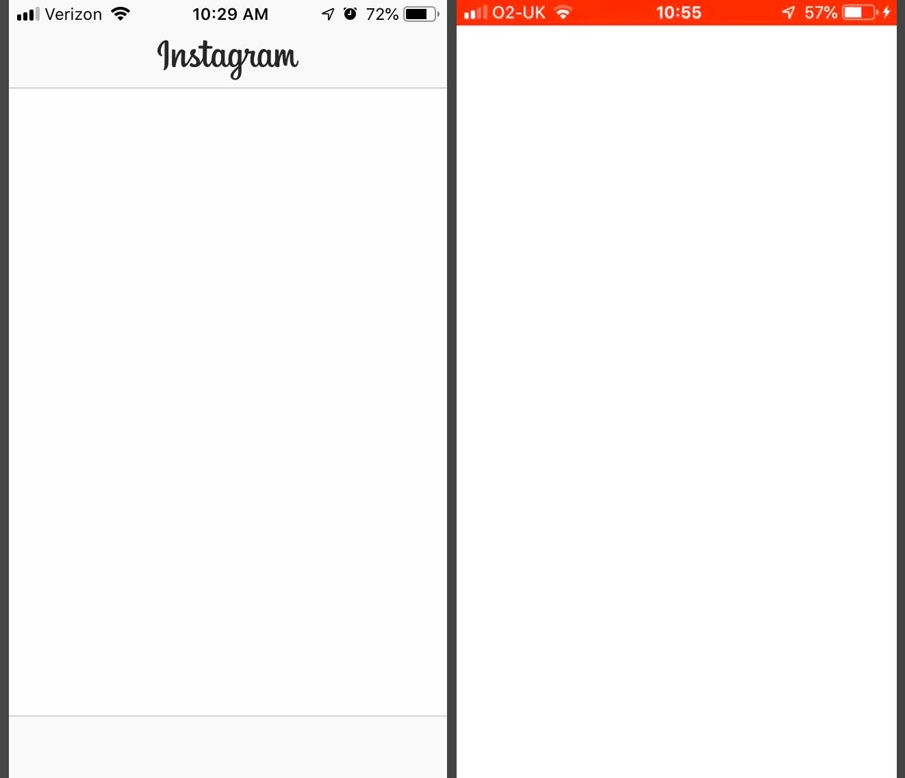 Catch Blank Instagram Post