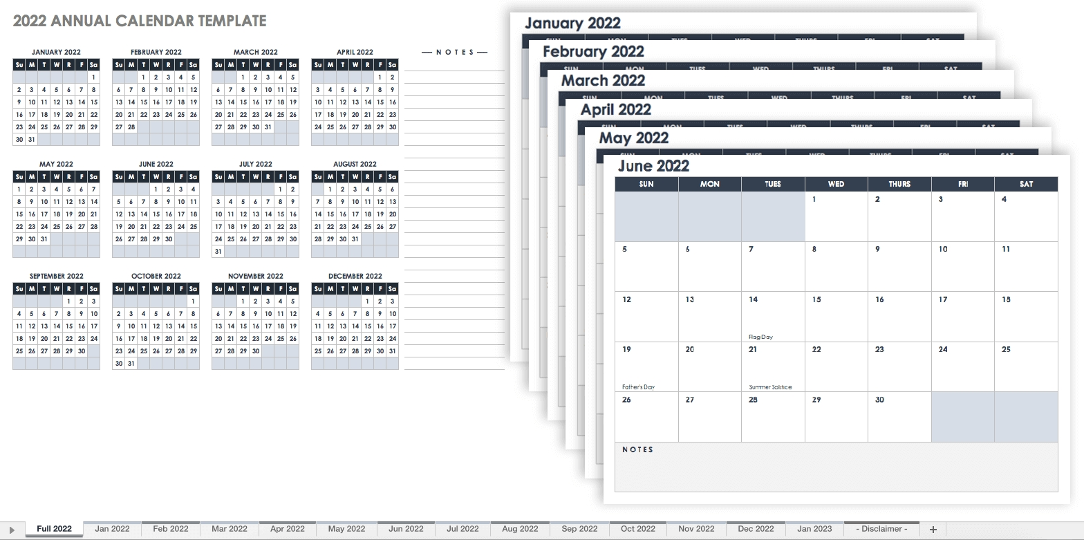 Catch Blank Monthly Calendar Template Excel 2021