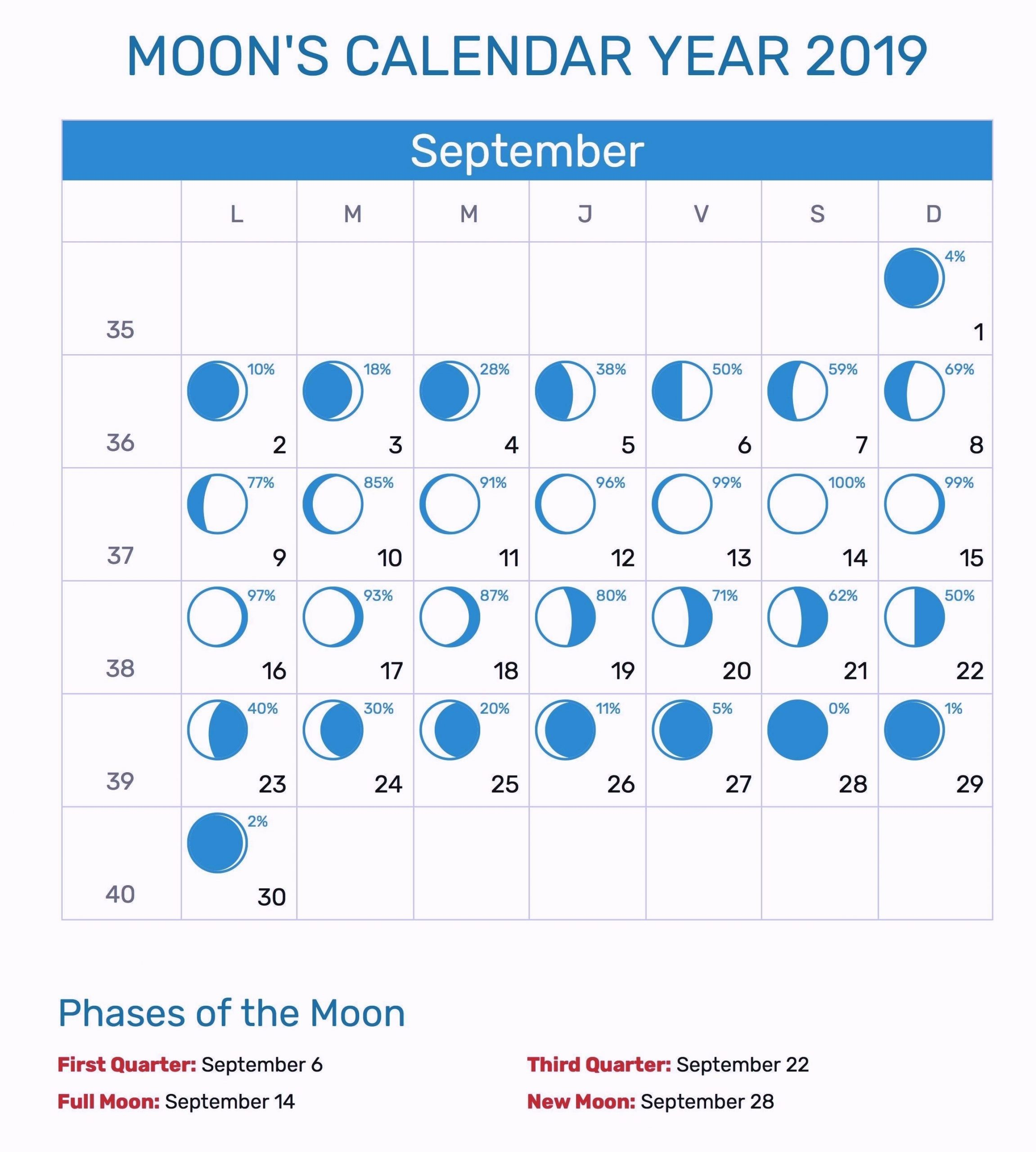 Catch Blank Moon Phase Calendar For Kids