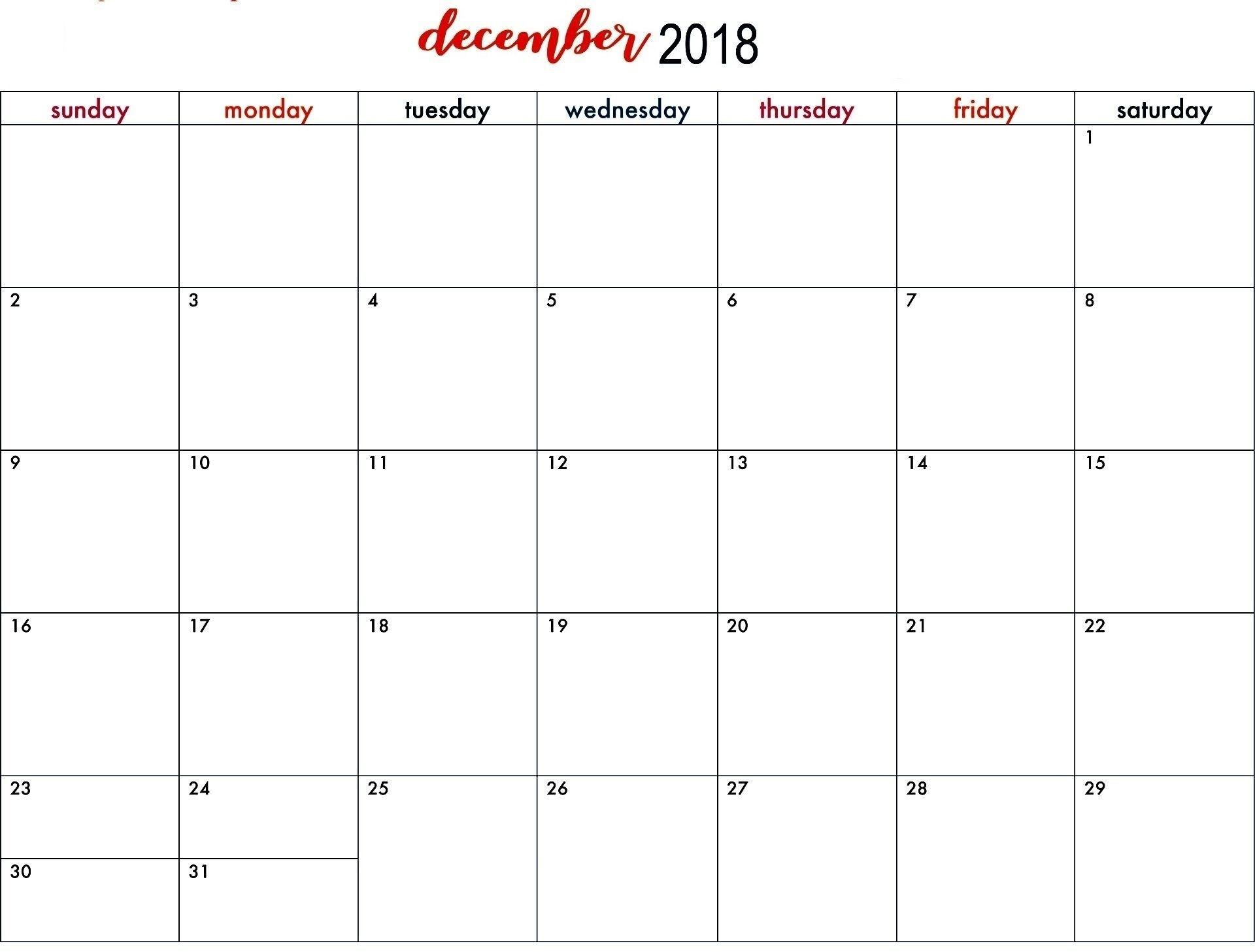 Catch Blank Standard Calendar