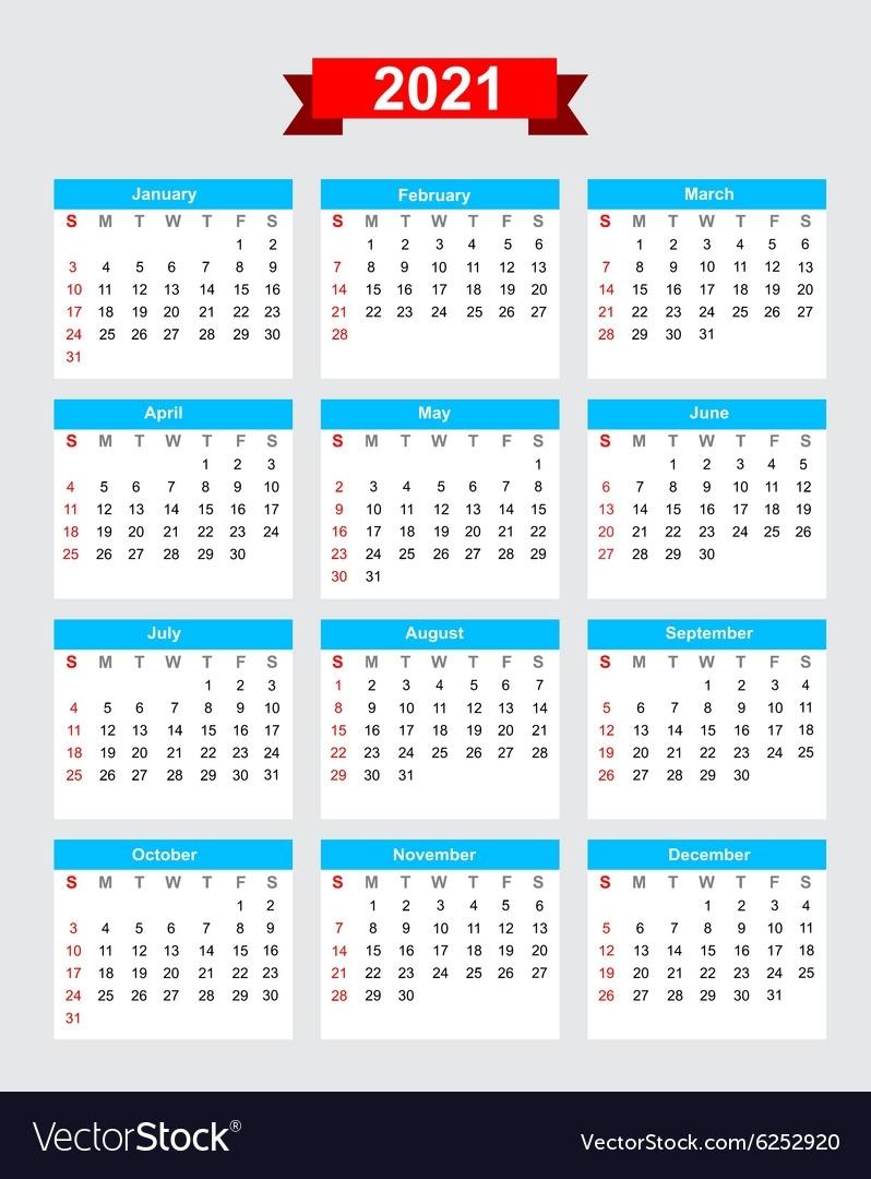 Catch Calendar 2021 Week Starting Monday