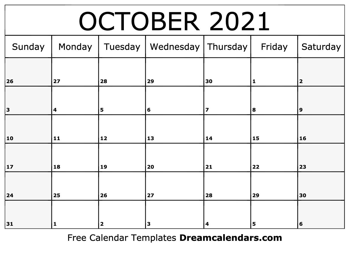 Catch Calendar August September October 2021