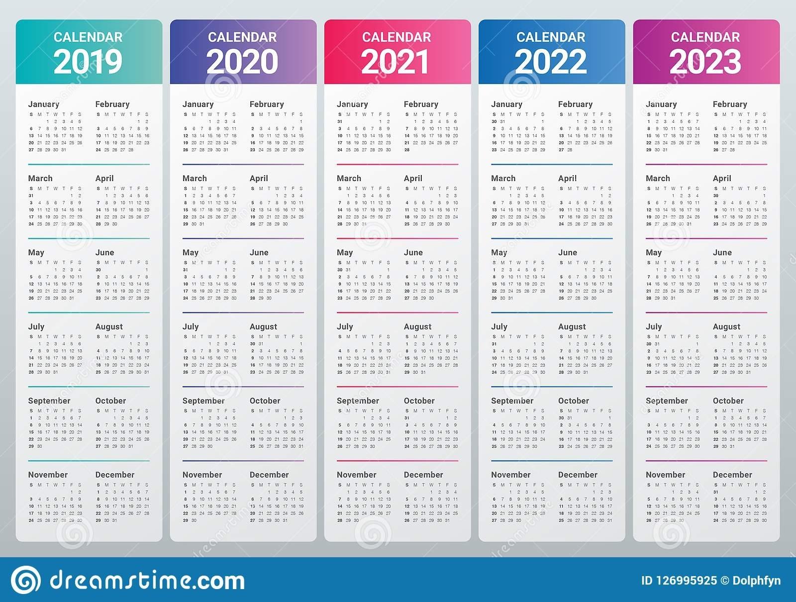 Catch Calendar For 2021 2022 2023