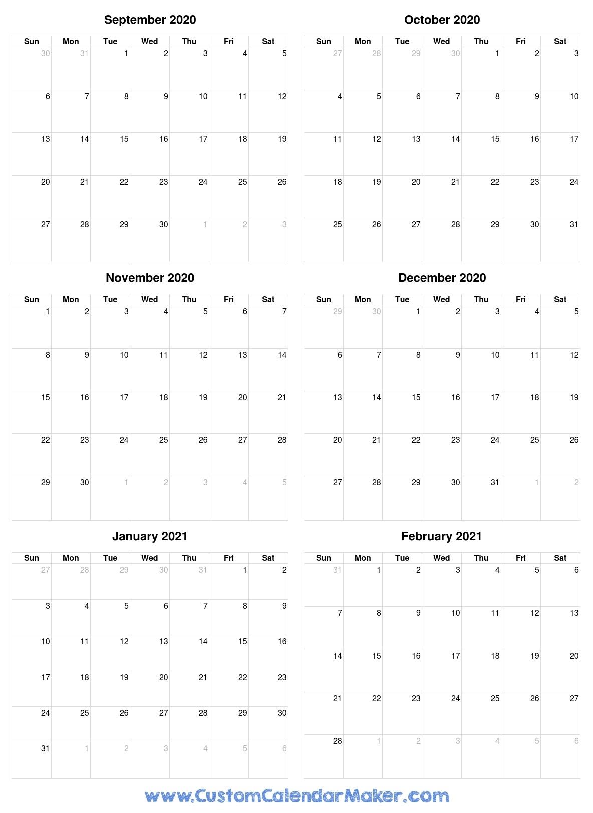 Catch Calendar Of August Through December 2021