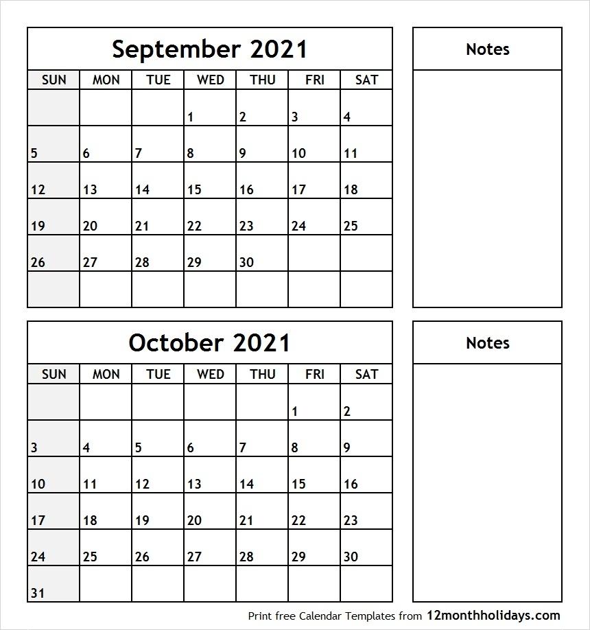 Catch Calendar September October 2021