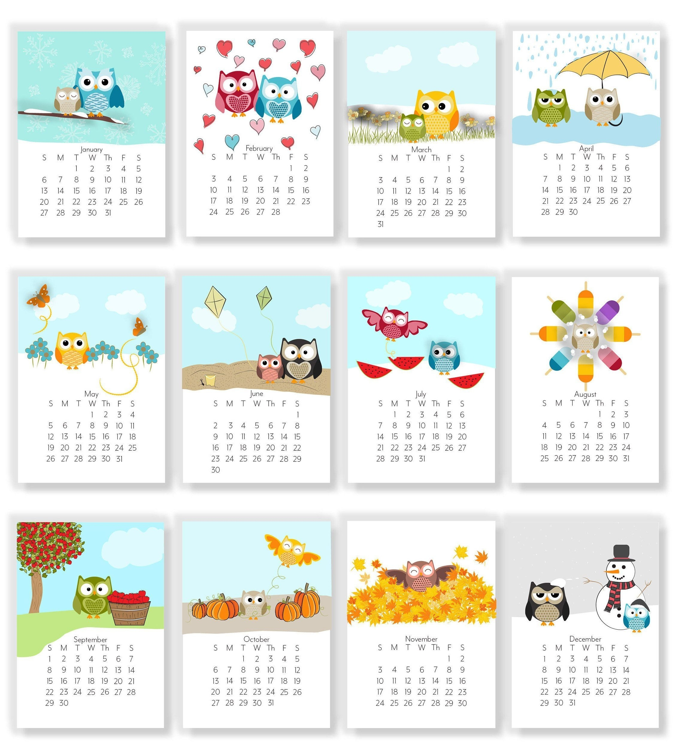 Catch Clip Art Calendar For August 2021