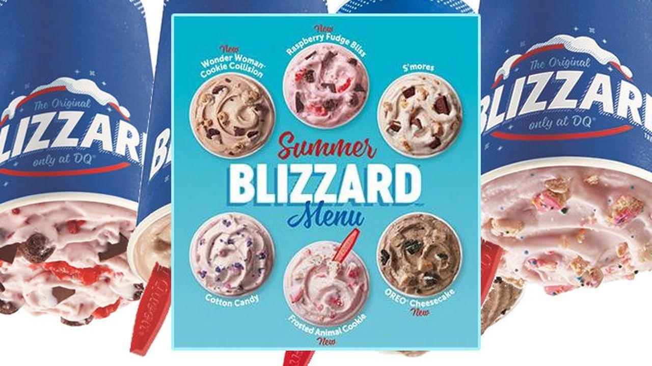 Catch Dairy Queen Blizzard Of The Month September 2021