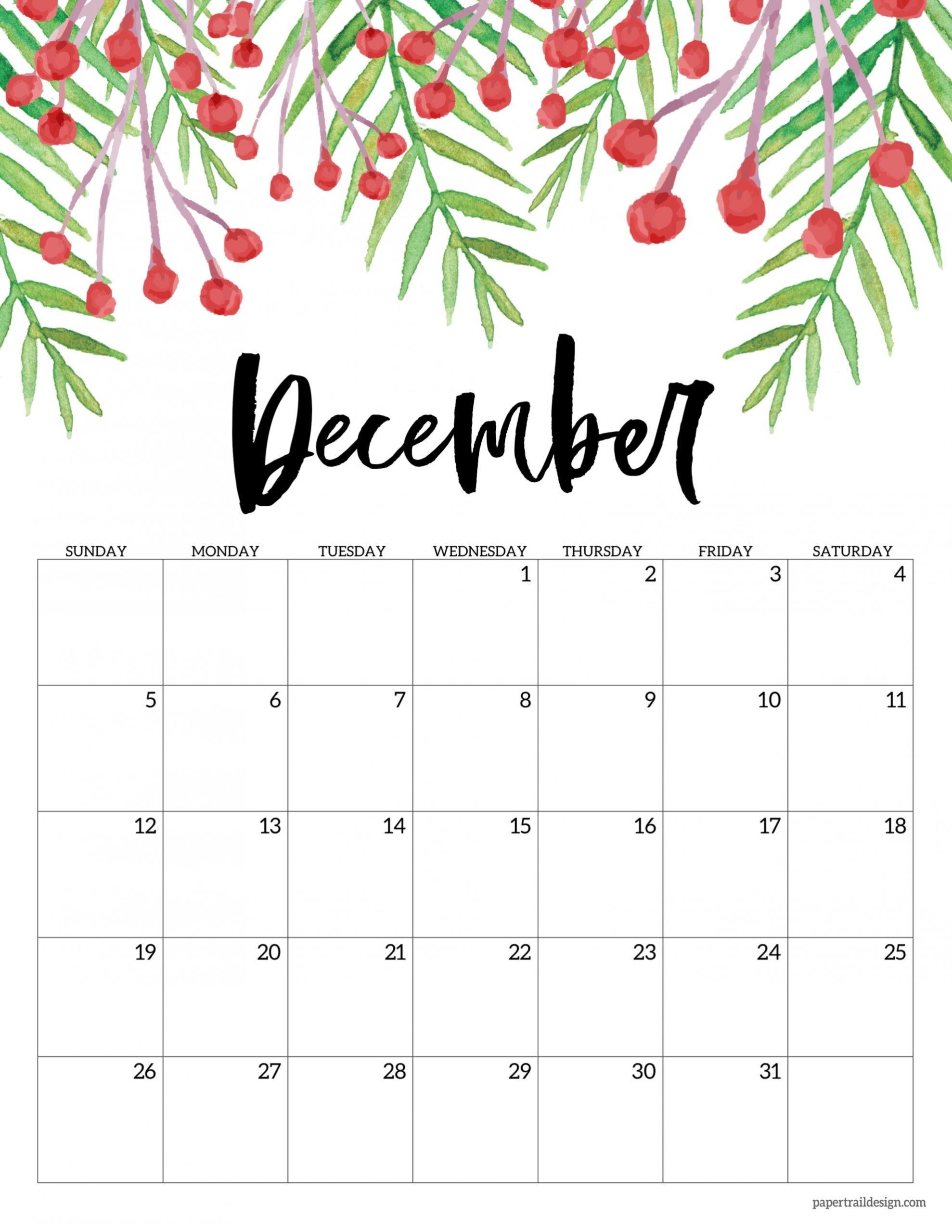 Catch December Calender Images 2021