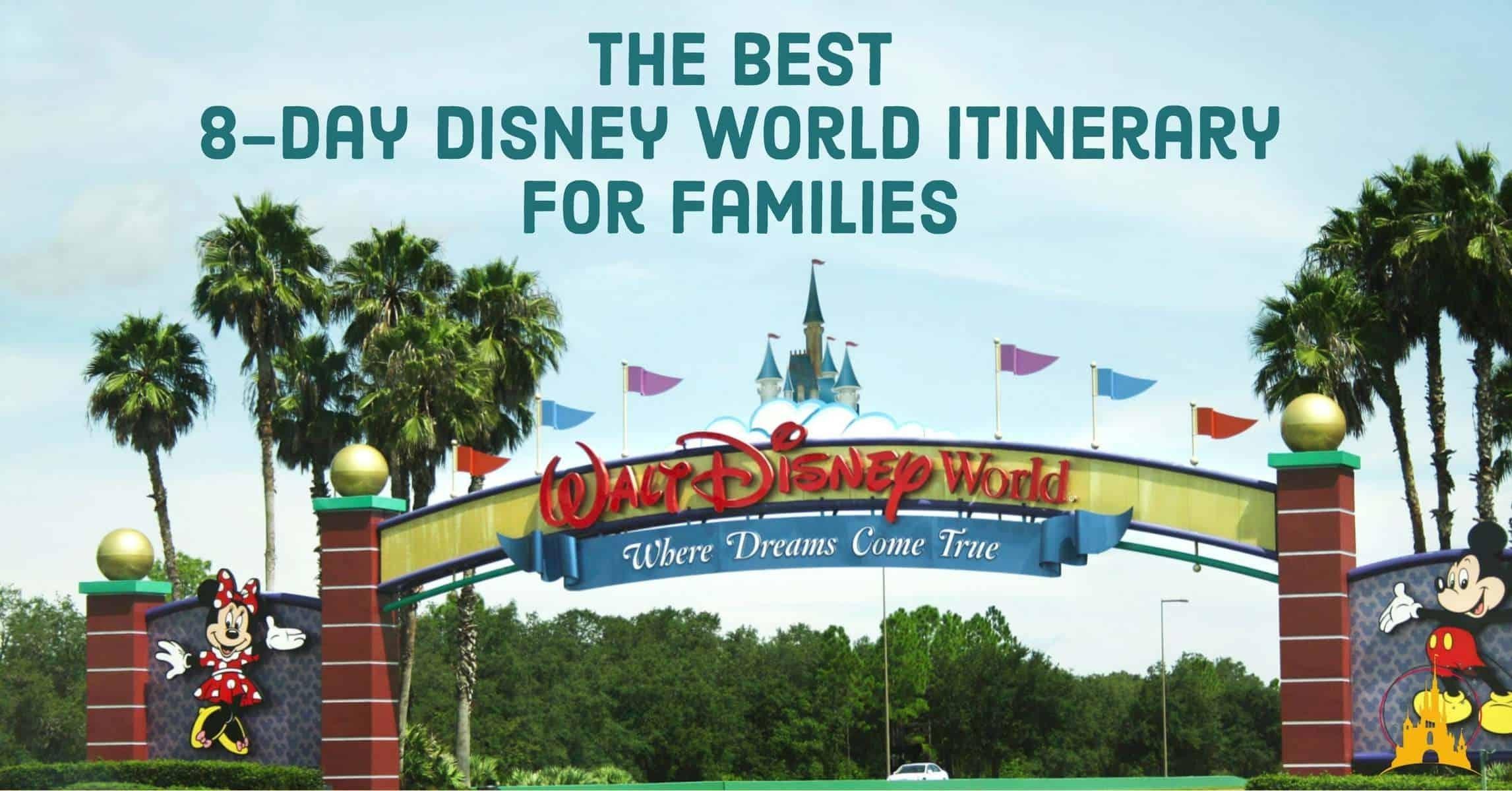 Catch Disney World Itinerary 2021