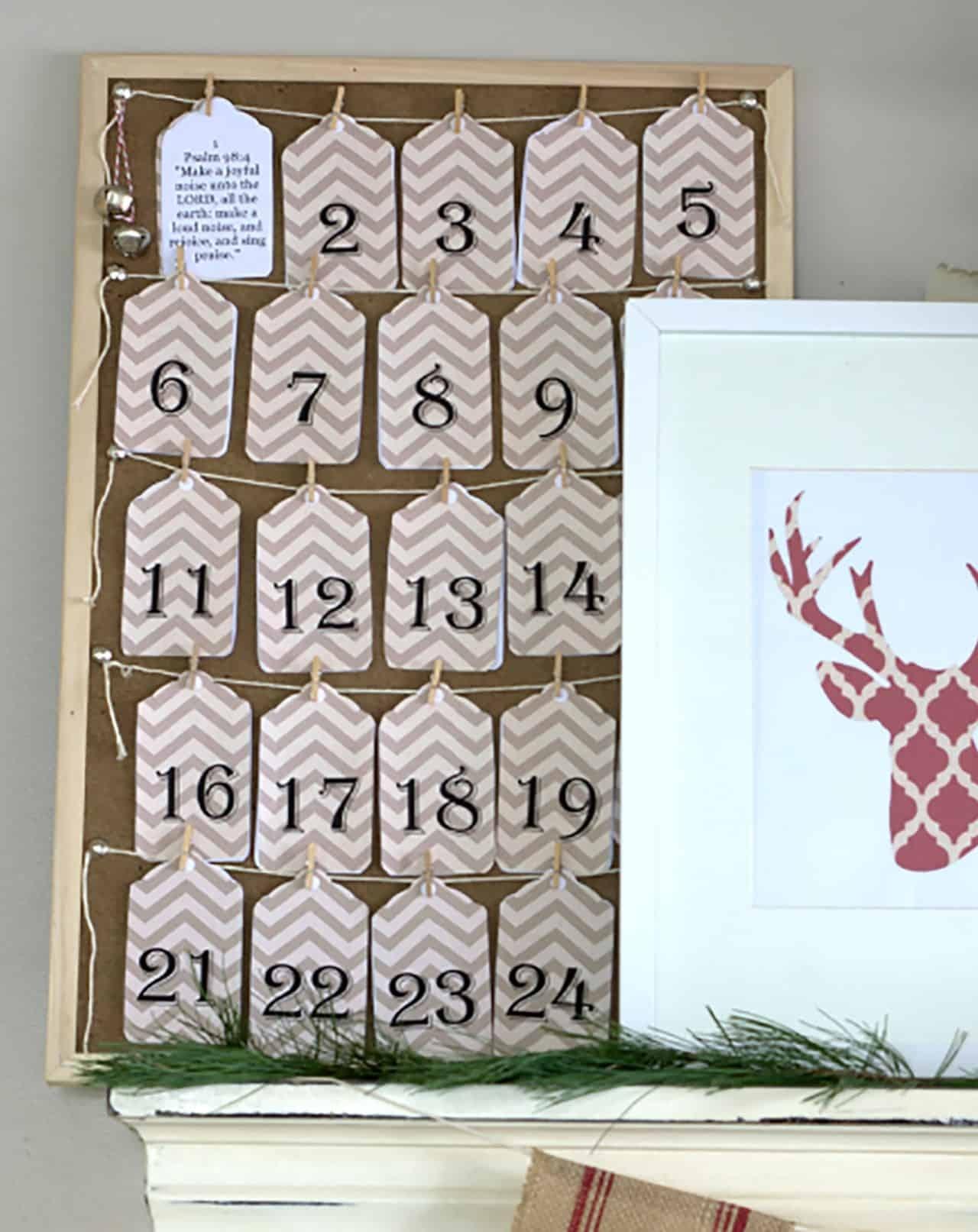 Catch Diy Advent Calendars Verses And Figures