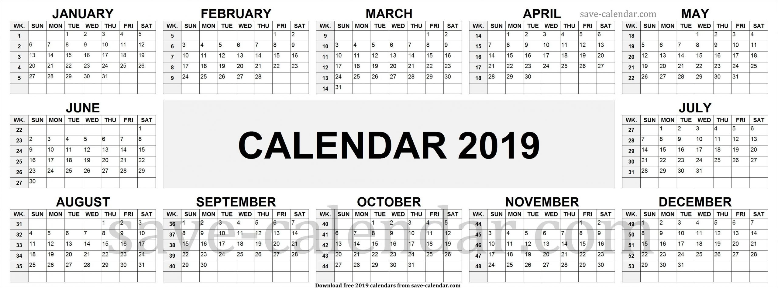 Catch Excel Calendar With Week Numbers