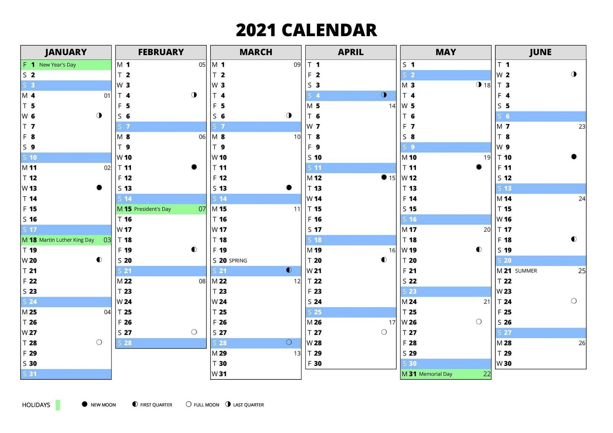 Catch Excel Calendar With Weeks 2021