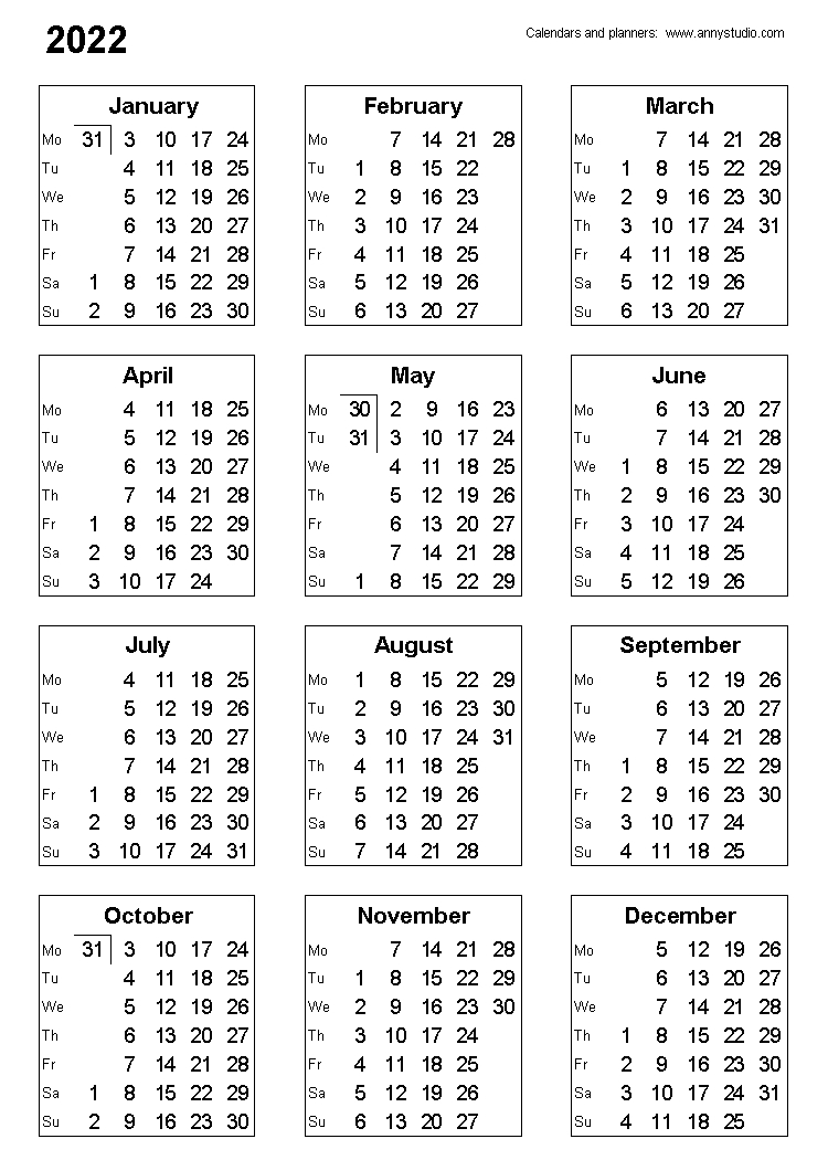 Catch Finacial Year Planner With Numbered Weeks