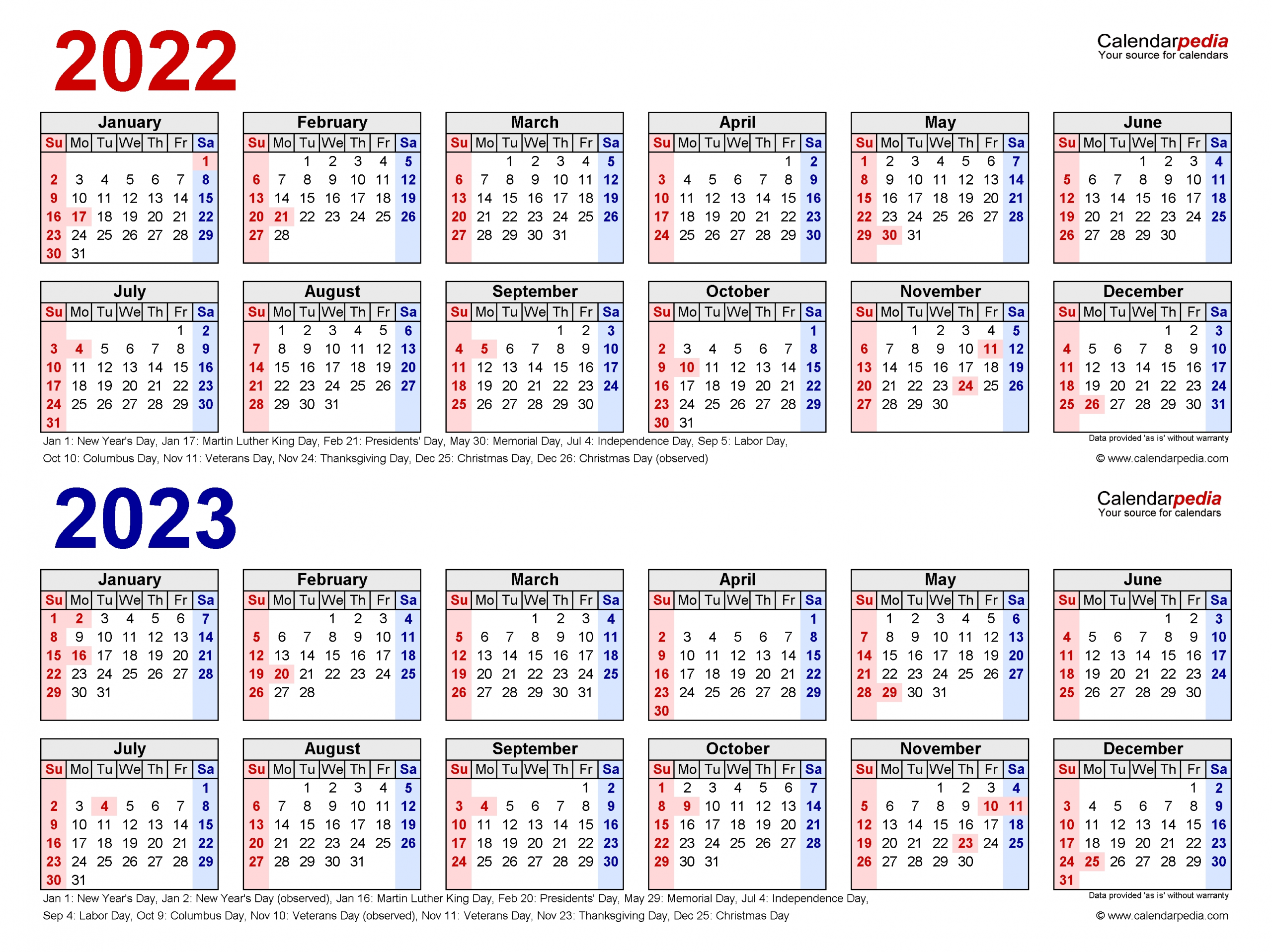 Catch Free Printable Calendar 2022 And 2023