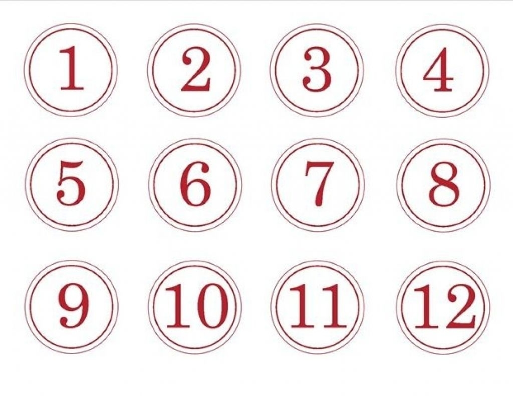 Catch Free Printable Calendar Numbers 1 31