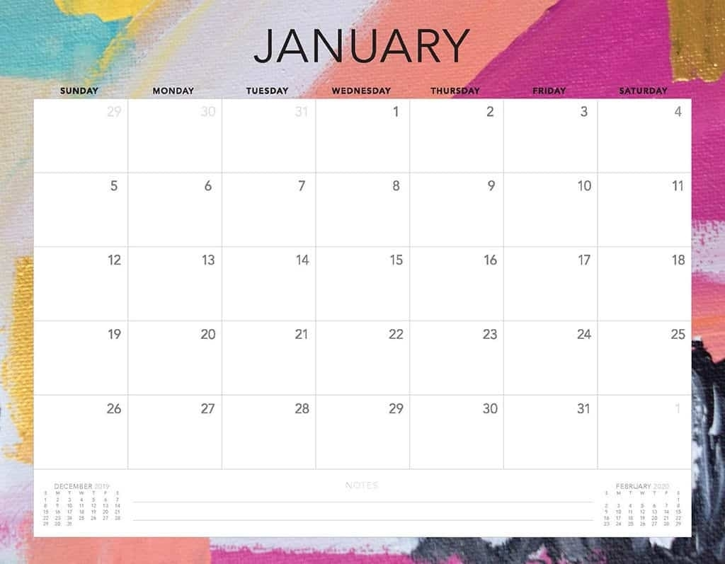 Catch Free Printable Calendar Without Download