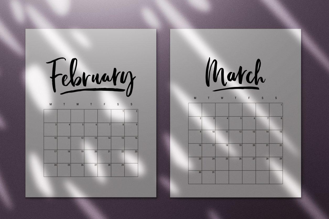 Catch Fun Printable Calendars 2021
