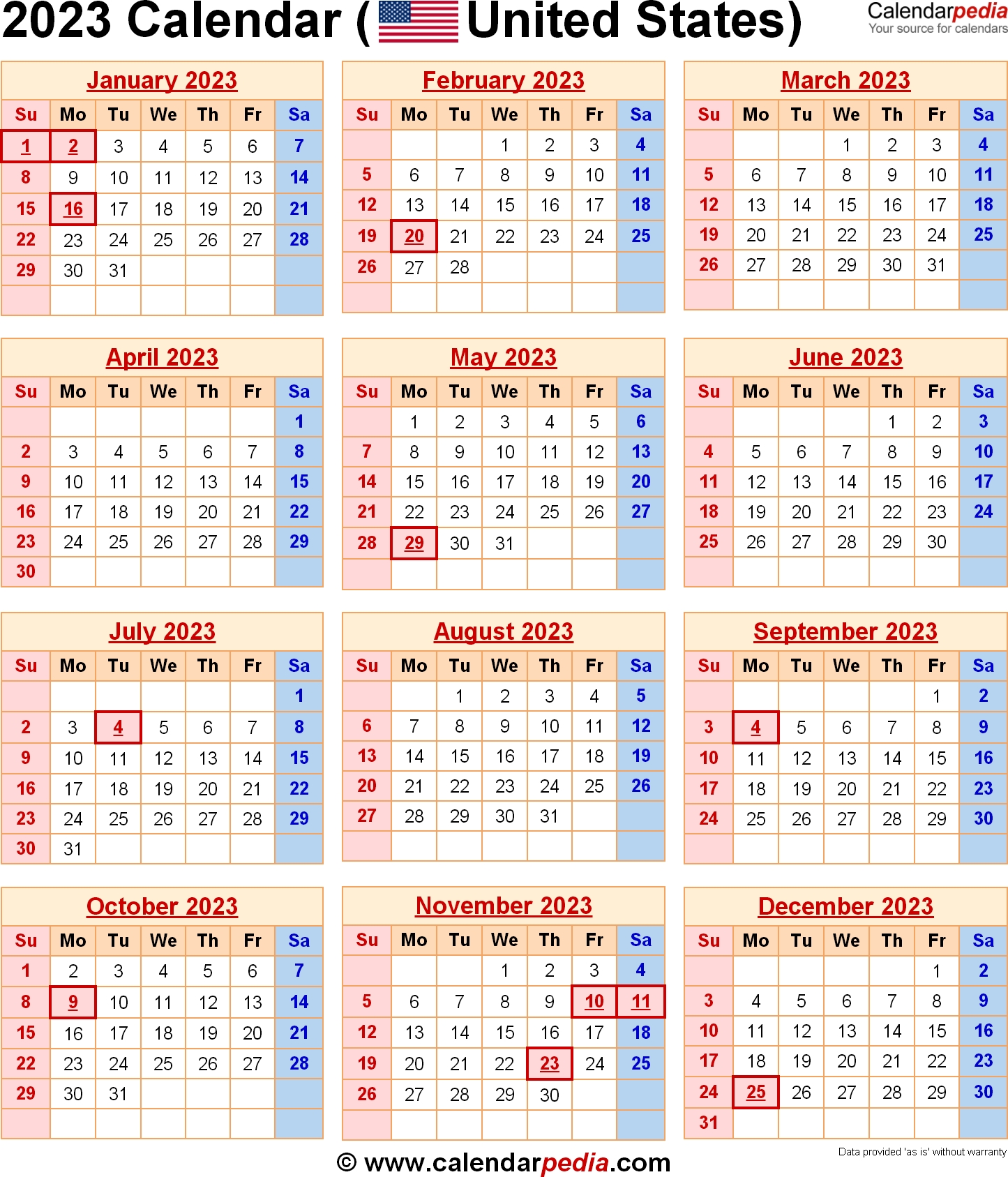 Catch Government 2023 Fiscal Calendar