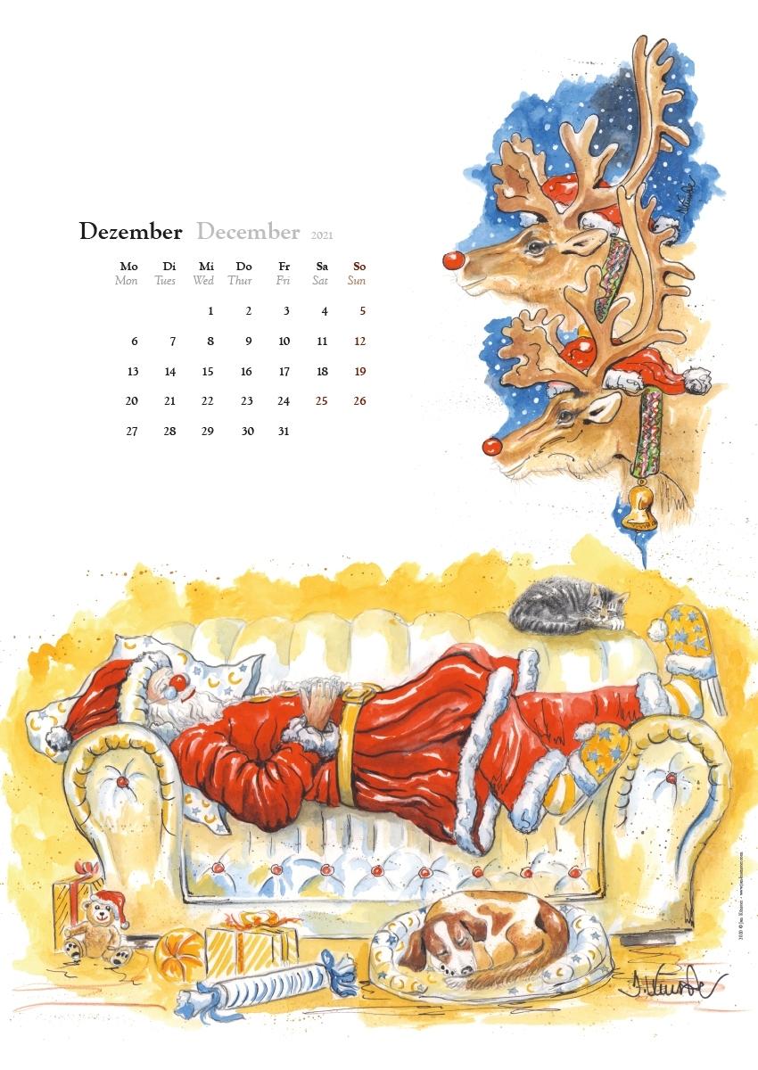 Catch Juli – Dezember Kalender 2021 Deutsch
