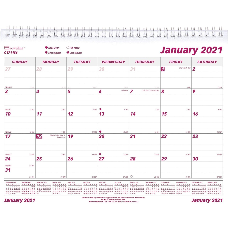 Catch Julian Calendar 2021