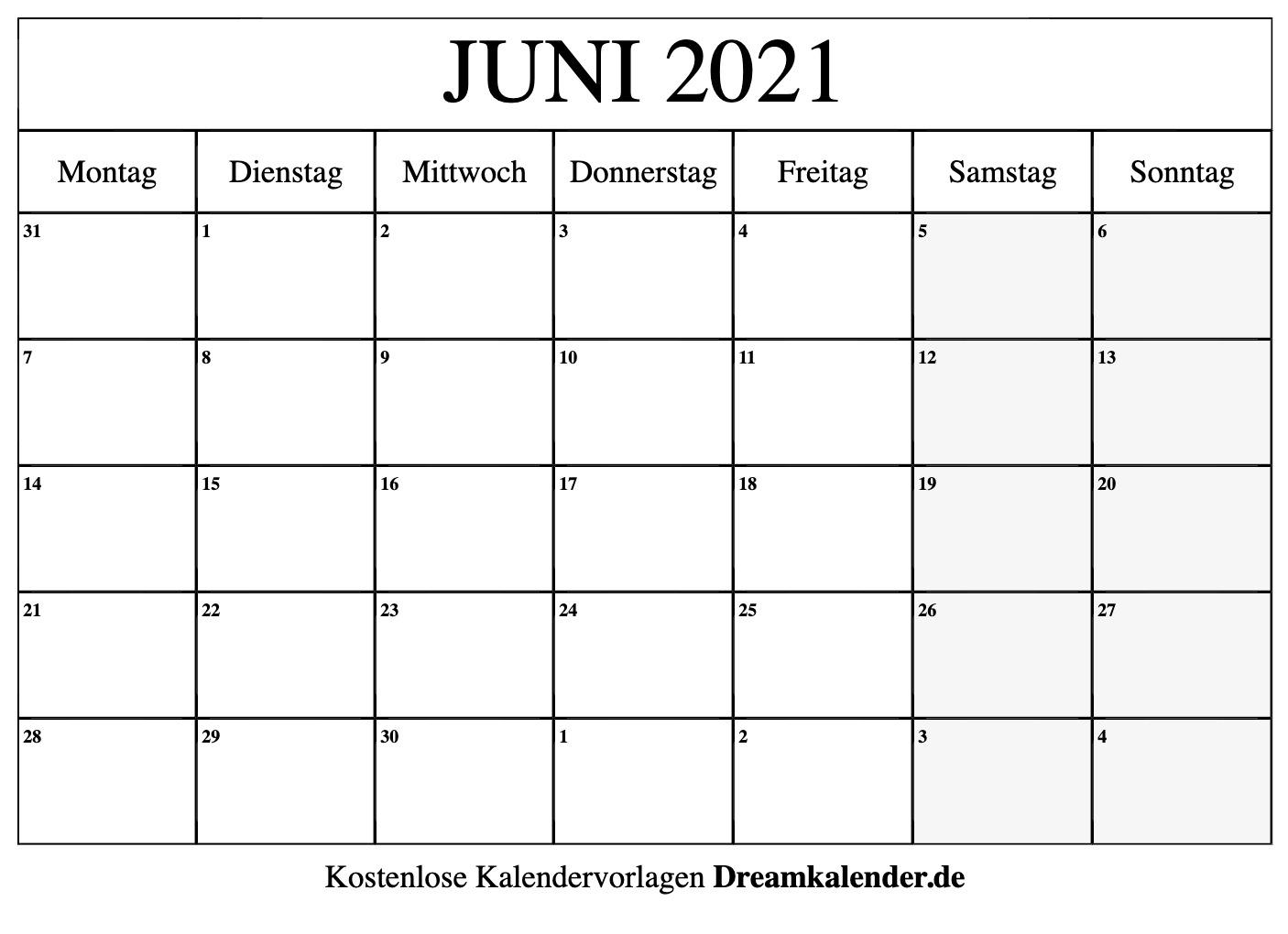 Catch Kalender 2021 Juni