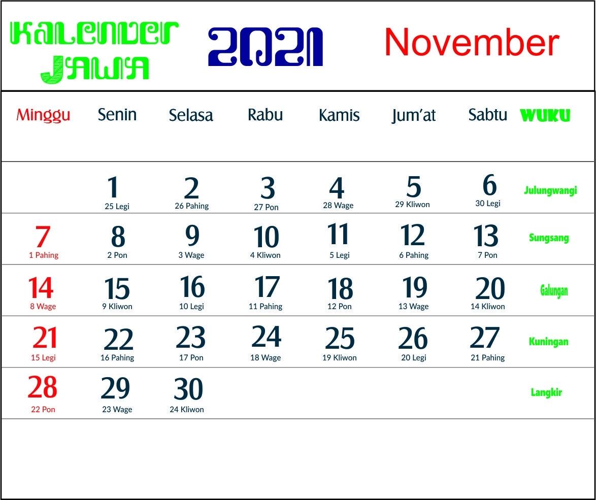Catch Kalender 2021 Oktober November Desember