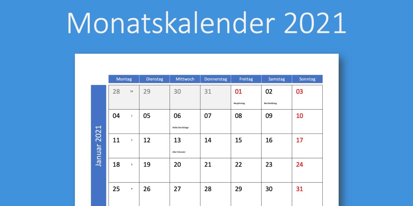 Catch Kalenderblatt Monat 2021