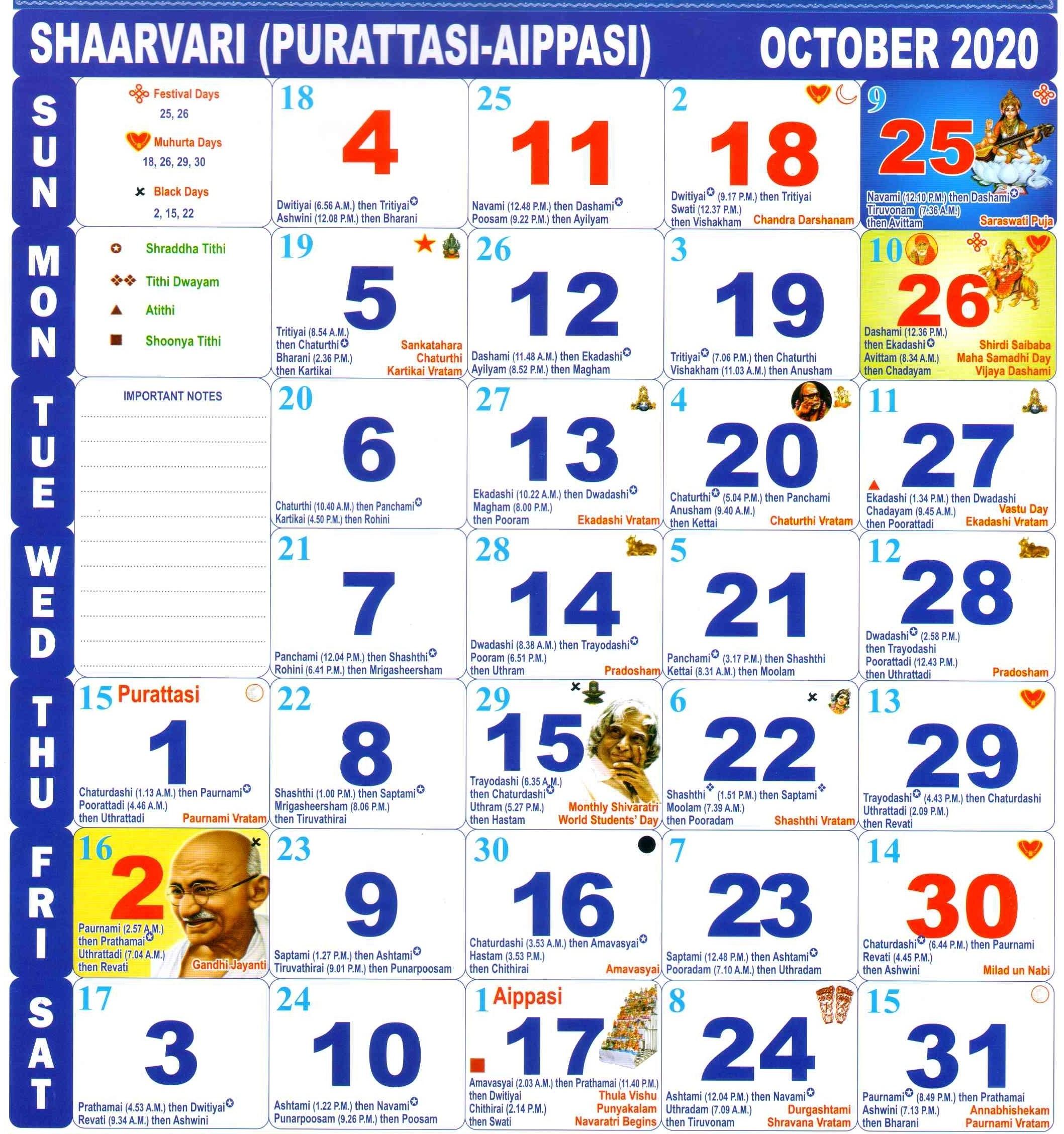 Catch Kishore Jantri Aug 2021 Calendar