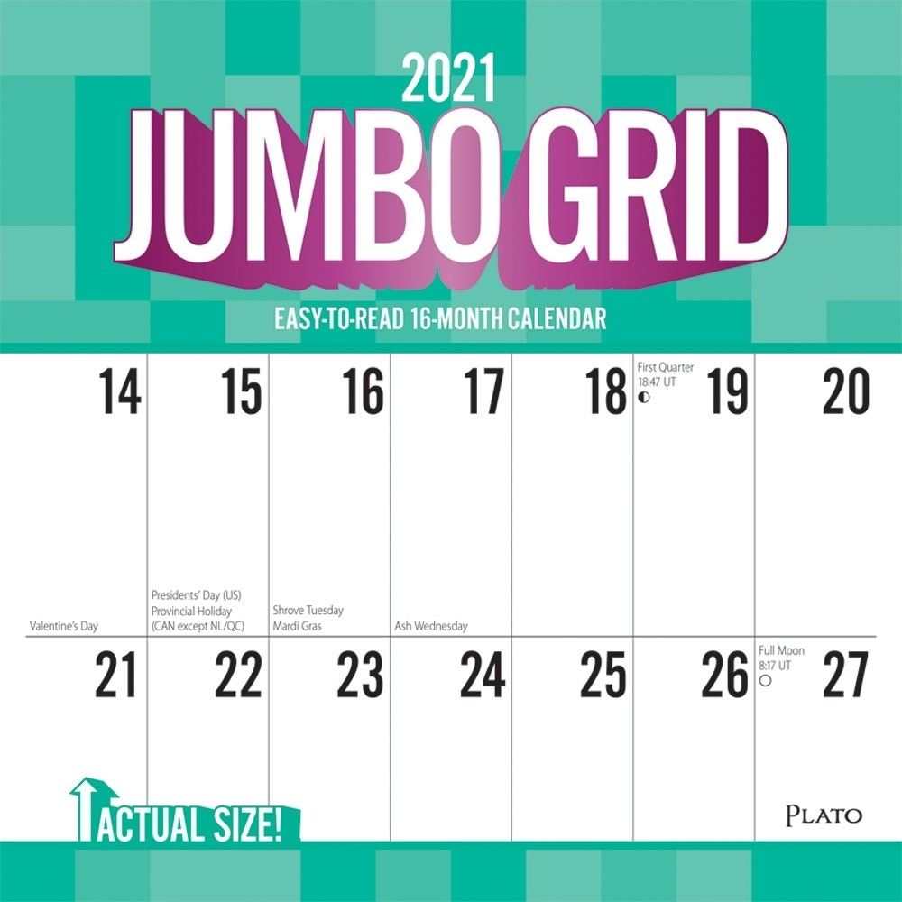 Catch Large Box For Calendar 2021