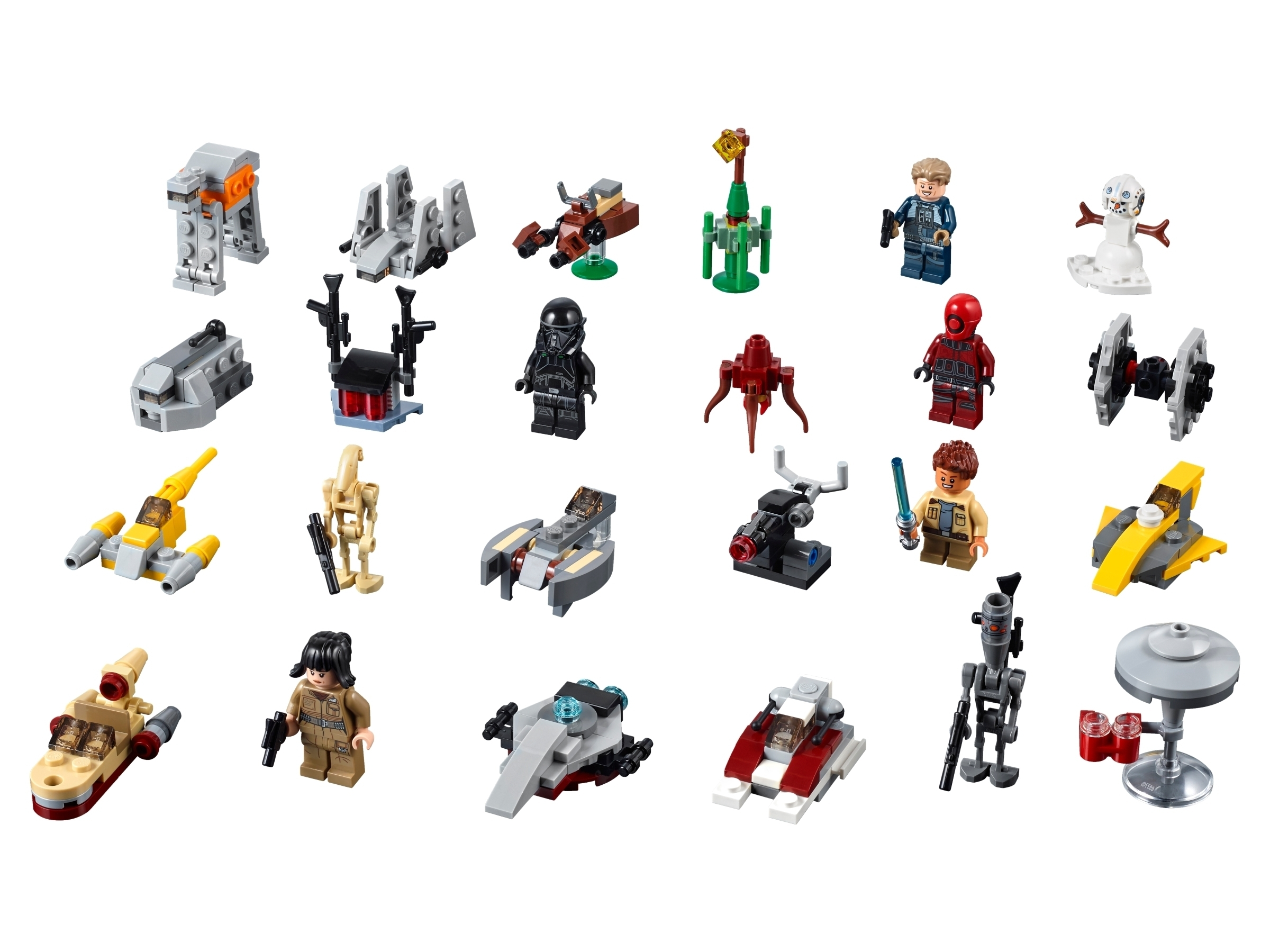 Catch Lego Star Wars Advent Calendar 2021 Instructions