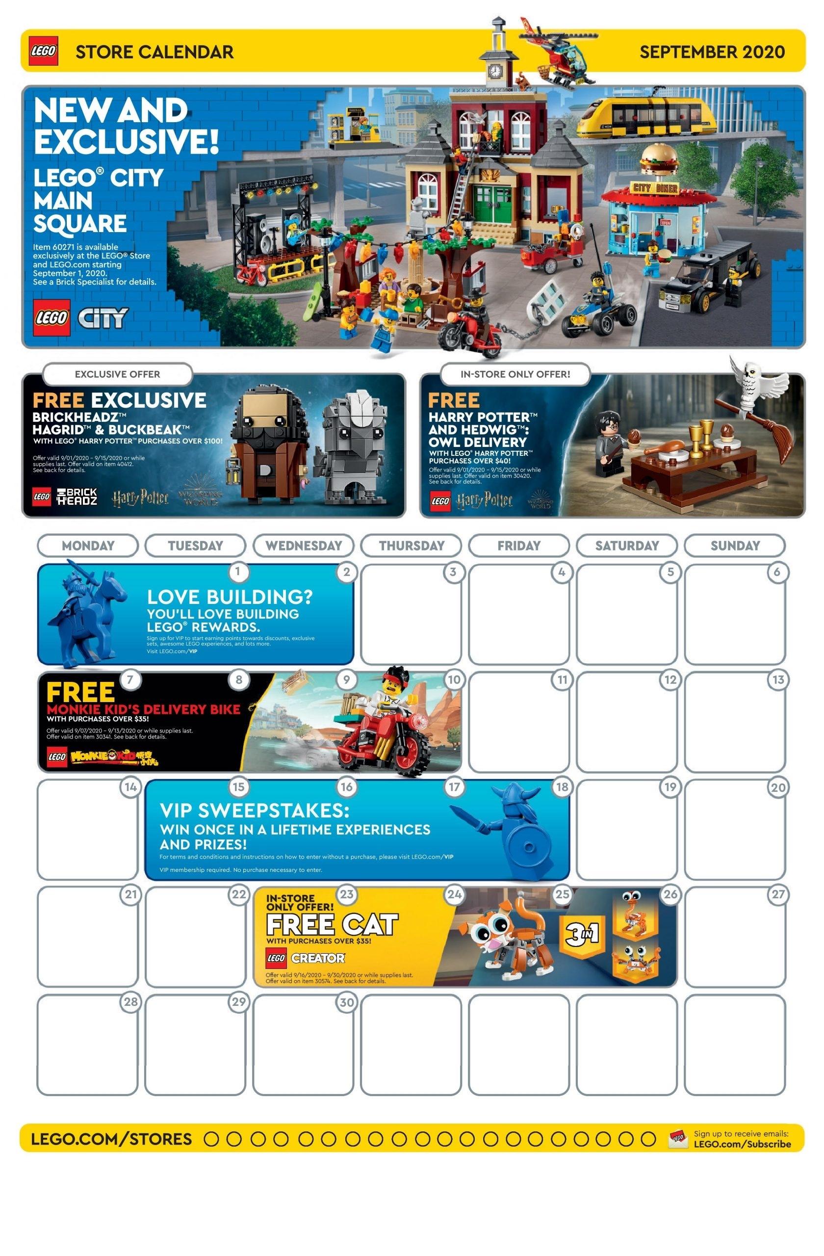 Catch Lego Starwars Event Calendar Free Code