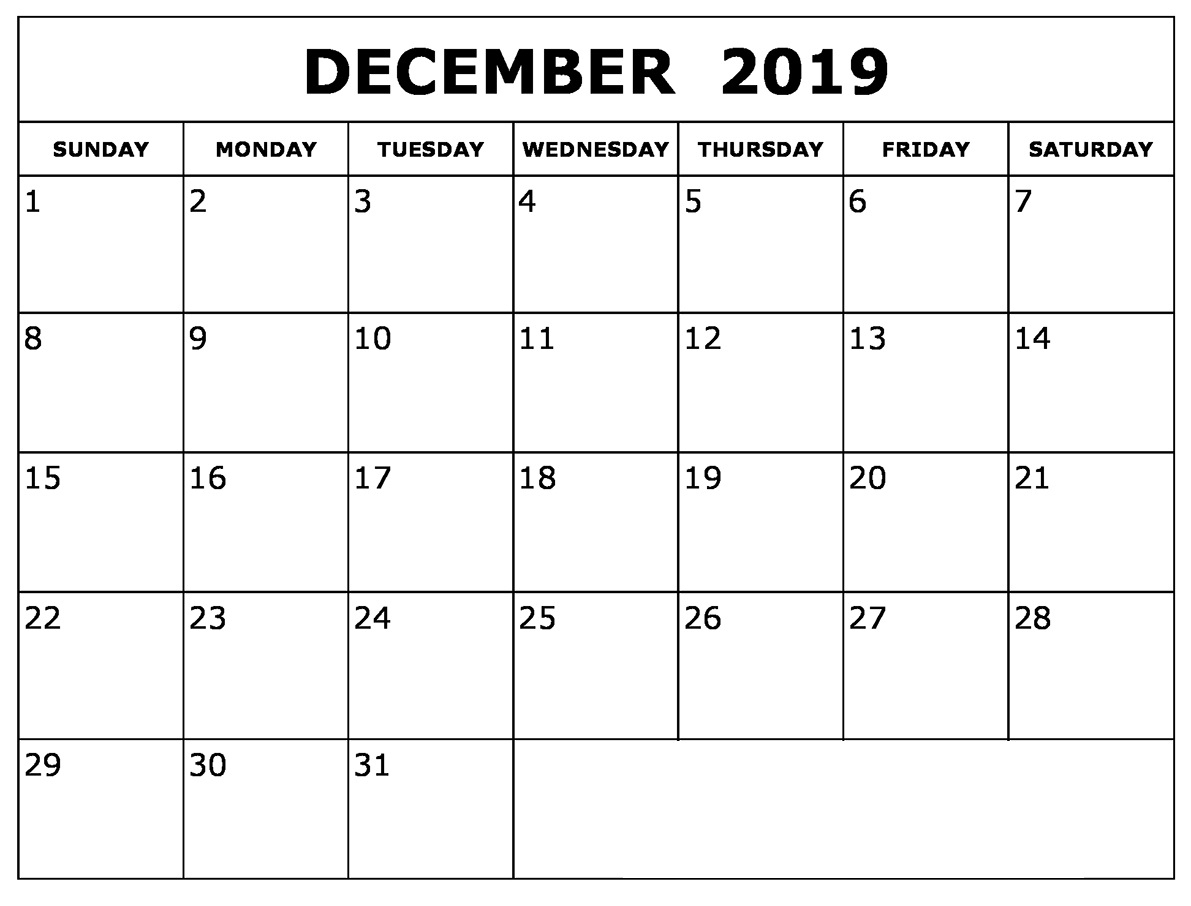 Catch Month Of Decemeber Calendar With Time Slots