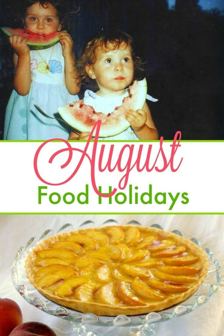 Catch National Food Days August 2021
