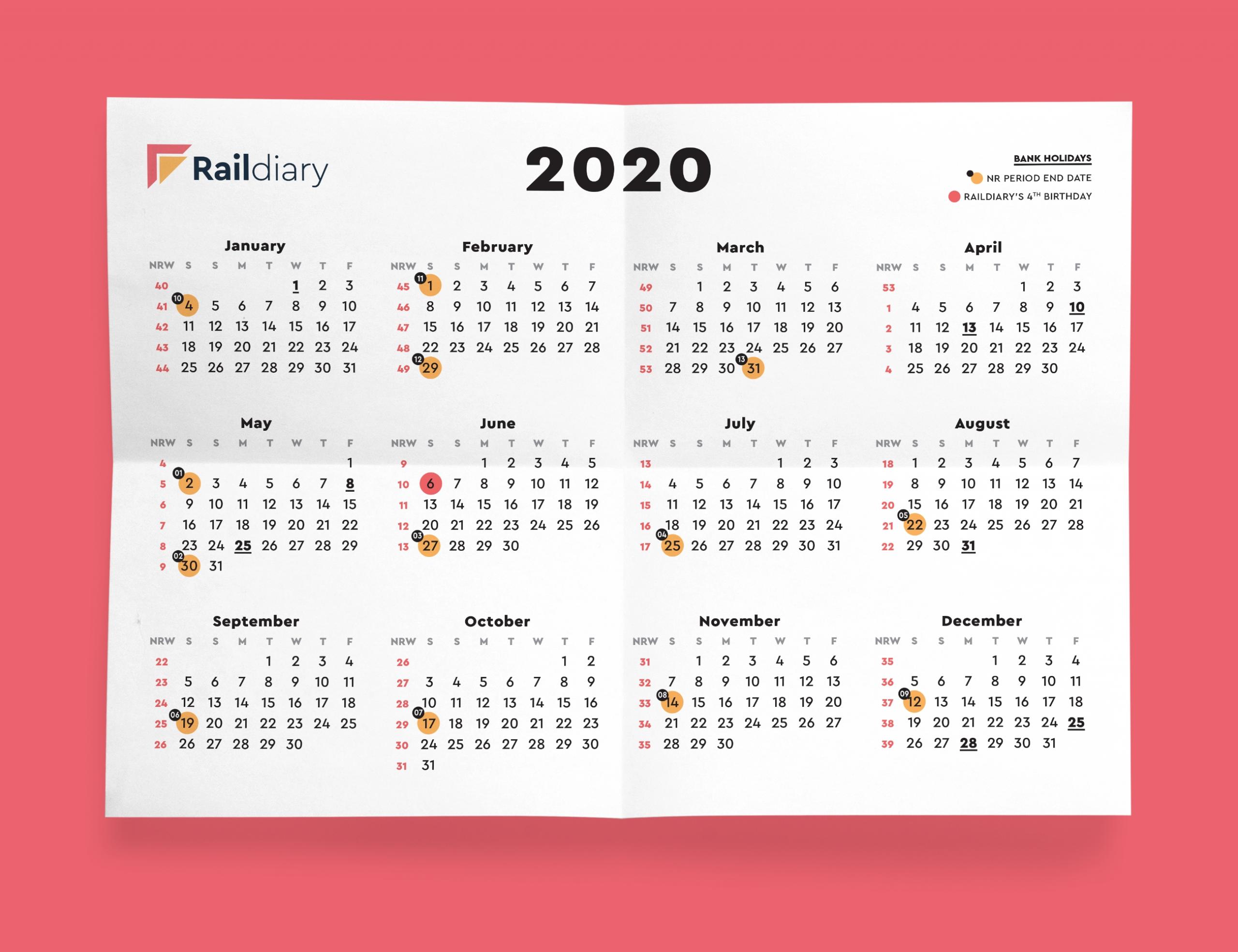 Catch Networkrail Week Numbers