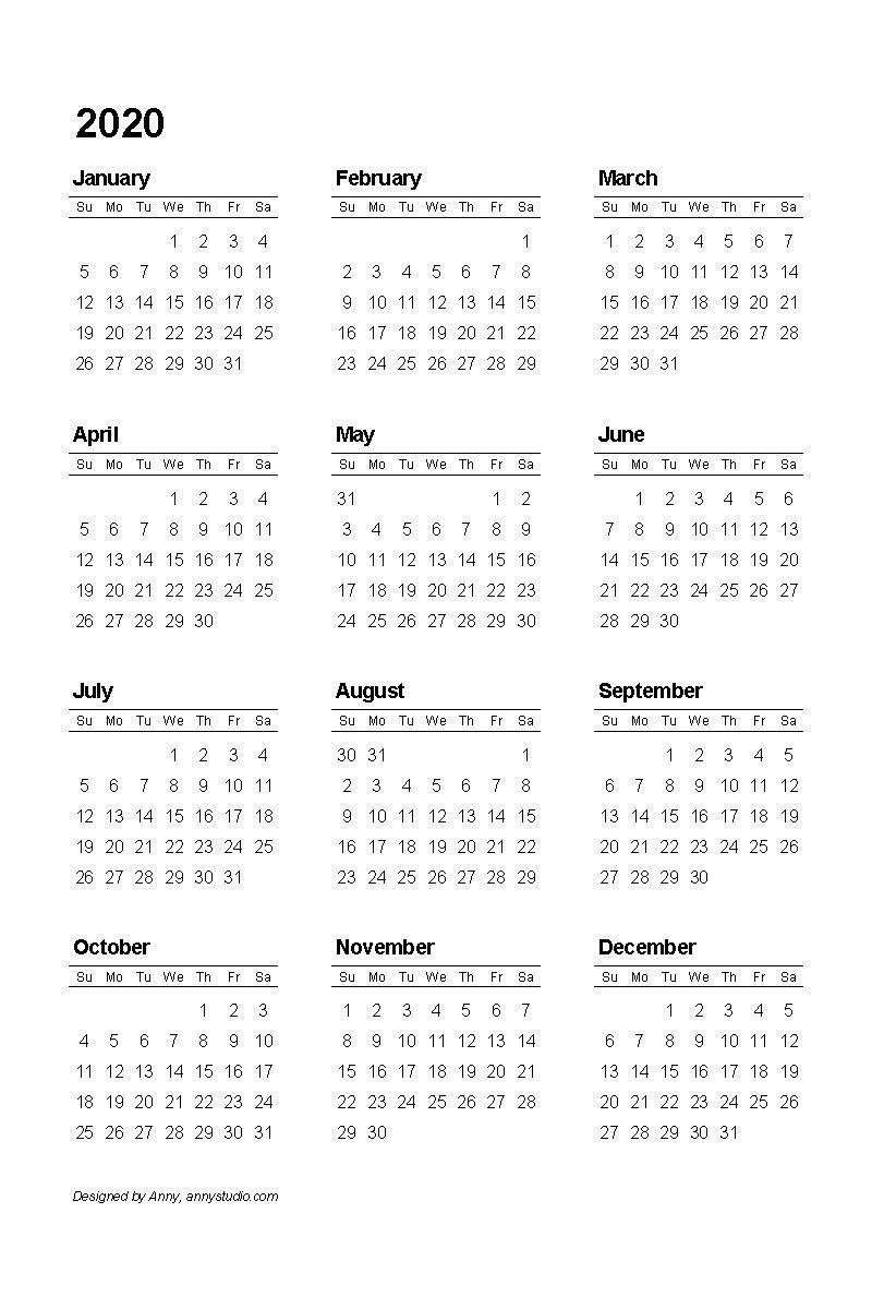 Catch No Download Printable Calendar 2021