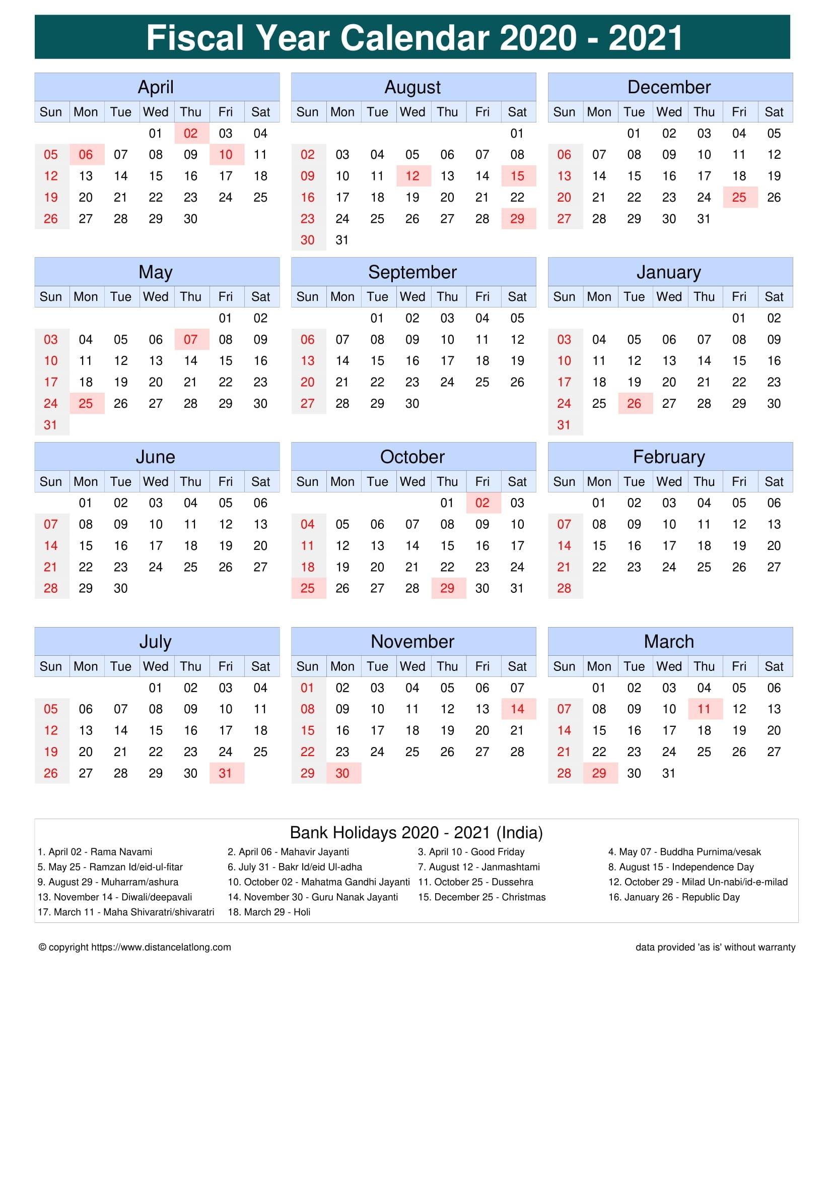 Catch November 2021 Calendar India